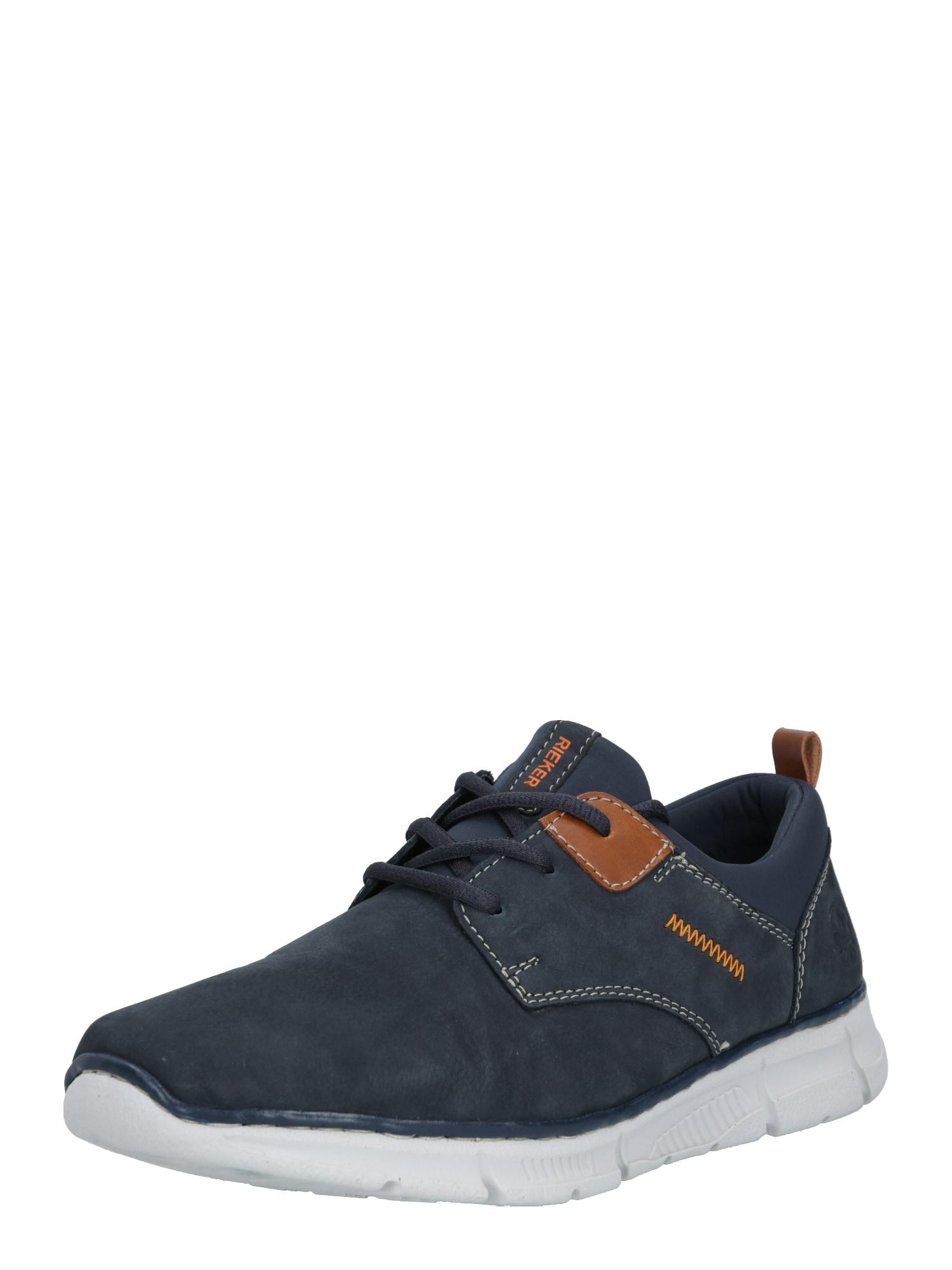 RIEKER Sportinio stiliaus batai su raišteliais tamsiai mėlyna