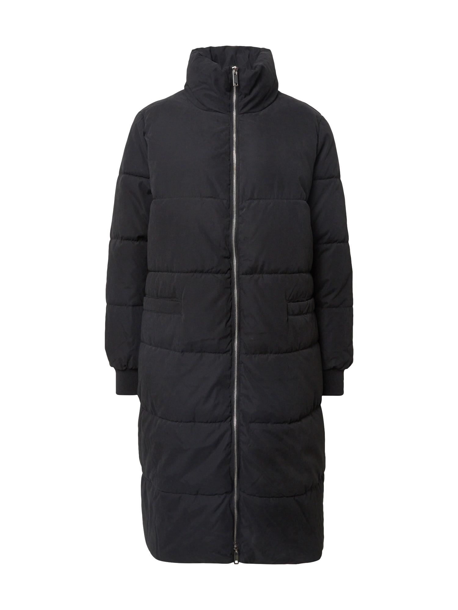 JACQUELINE de YONG Žieminis paltas juoda