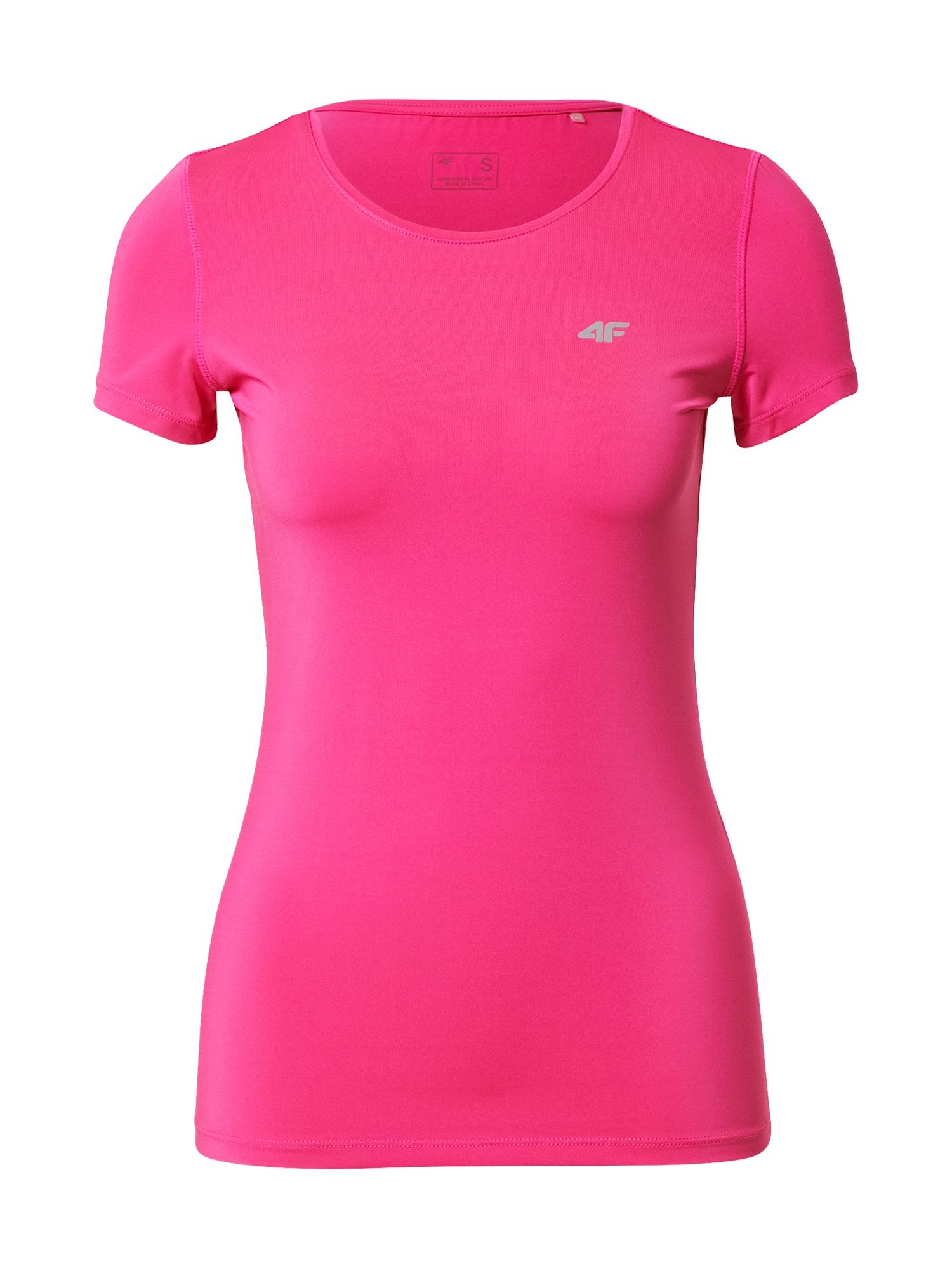 4F Sportiniai marškinėliai rožinė
