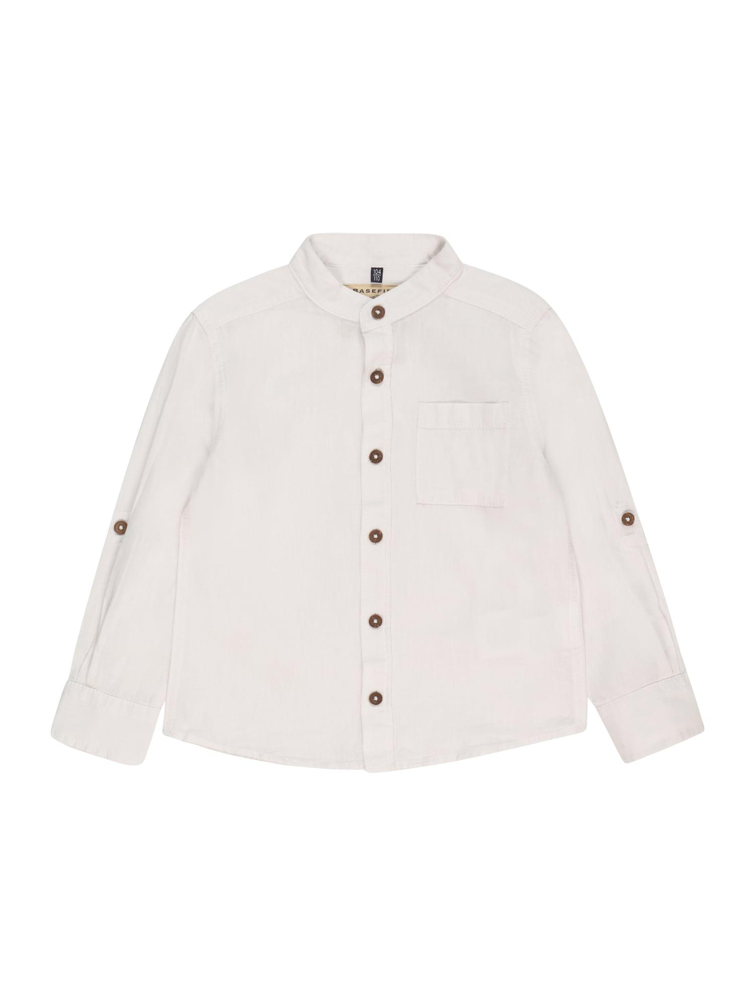BASEFIELD Marškiniai balkšva