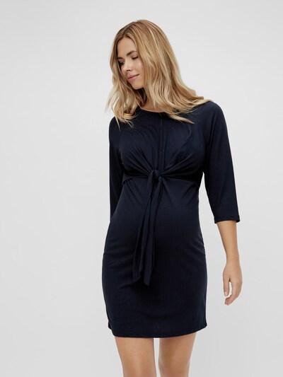 Mama.Licious Zilke Kurzes Jersey-Kleid mit 3/4-Ärmeln und Wickeloptik
