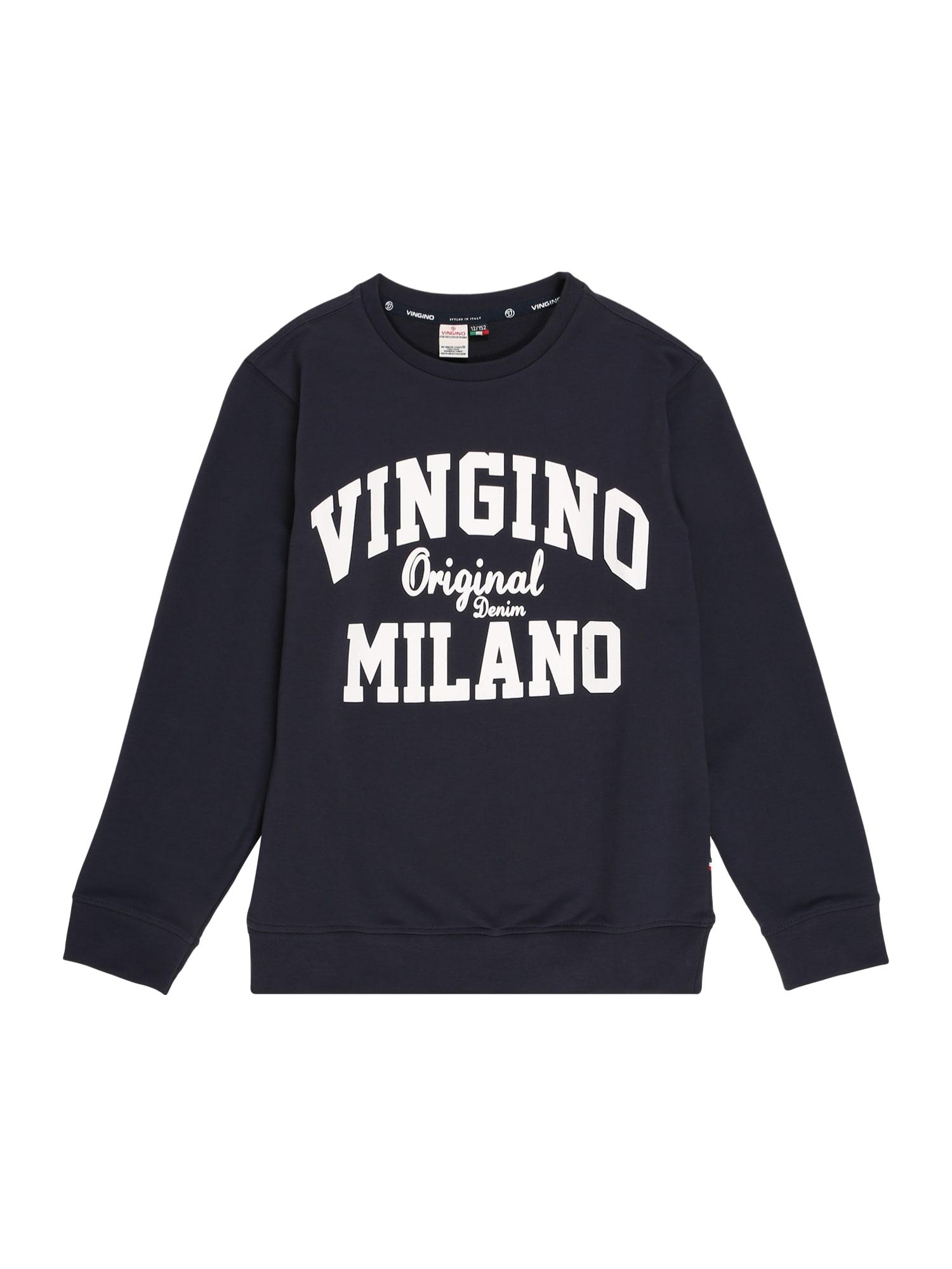 VINGINO Megztinis be užsegimo nakties mėlyna / balta