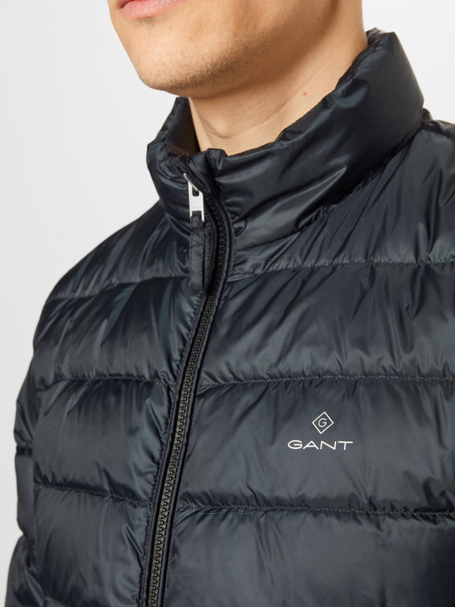 GANT Prechodná bunda  čierna.