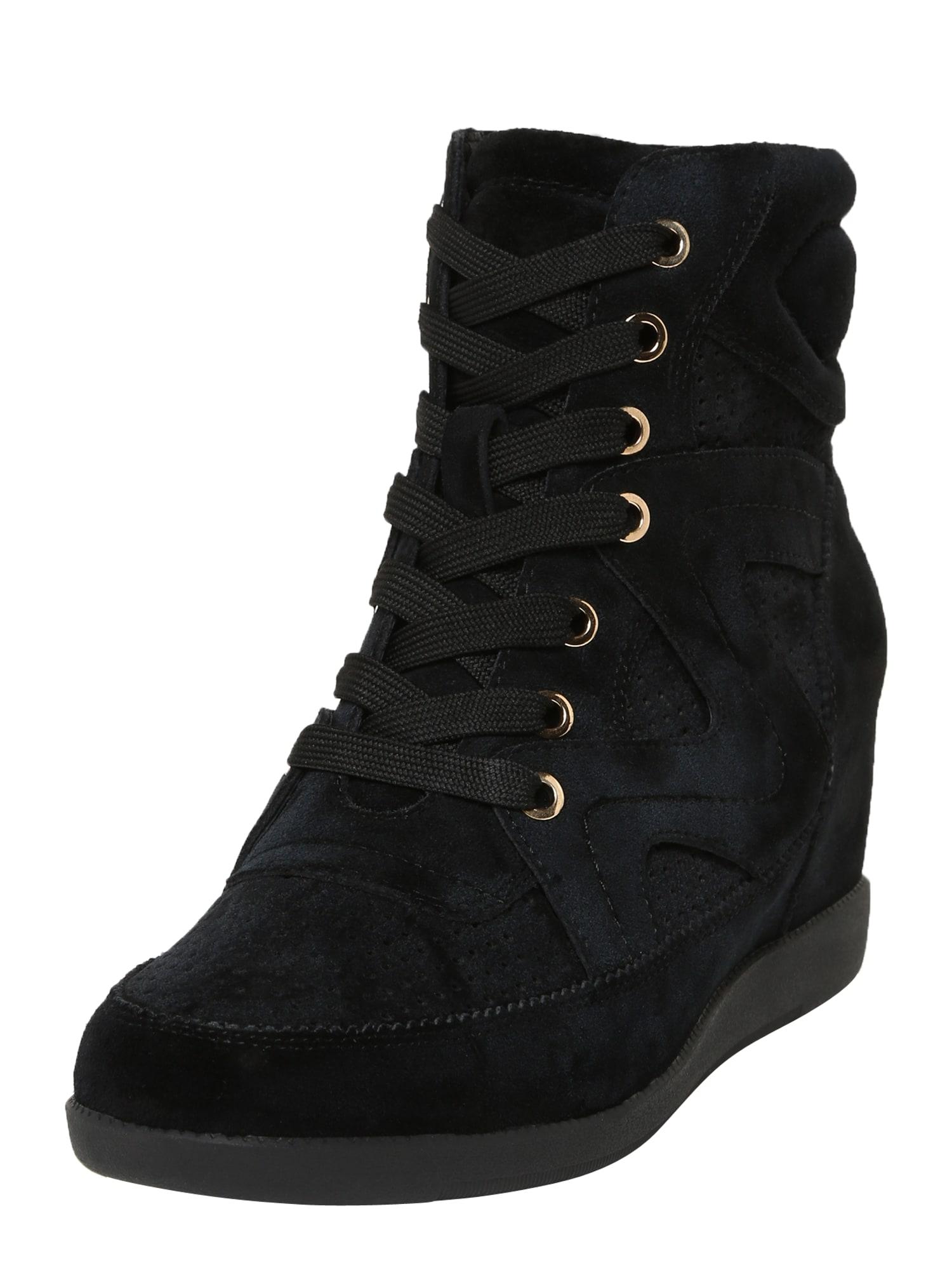 Shoe The Bear Šněrovací boty 'Emmy'  černá