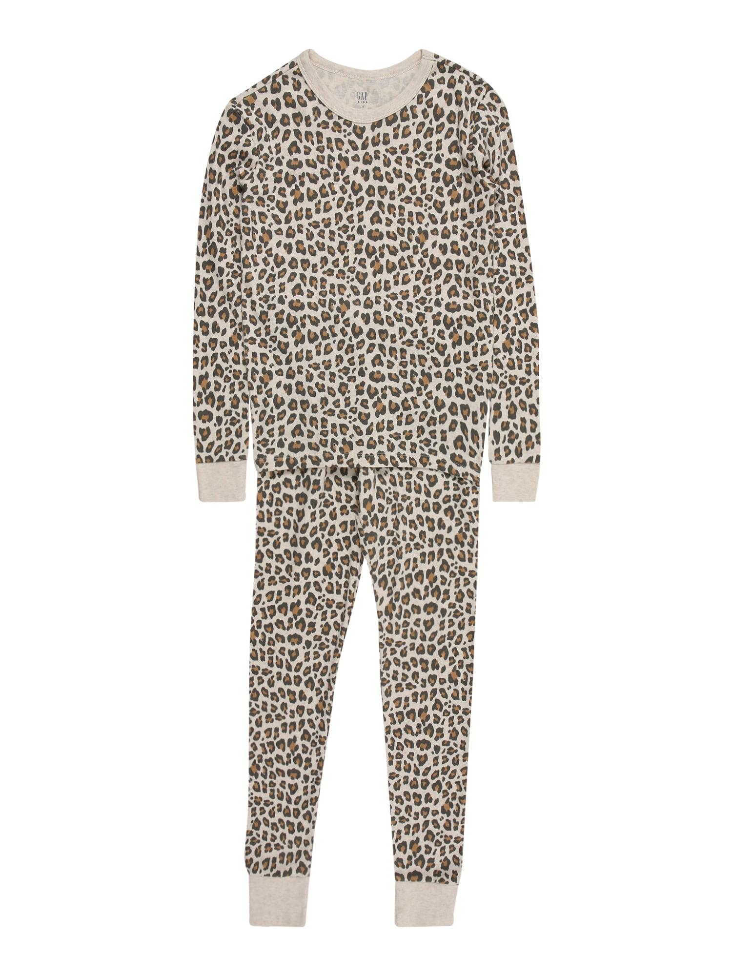 GAP Miego kostiumas smėlio / juoda / ruda