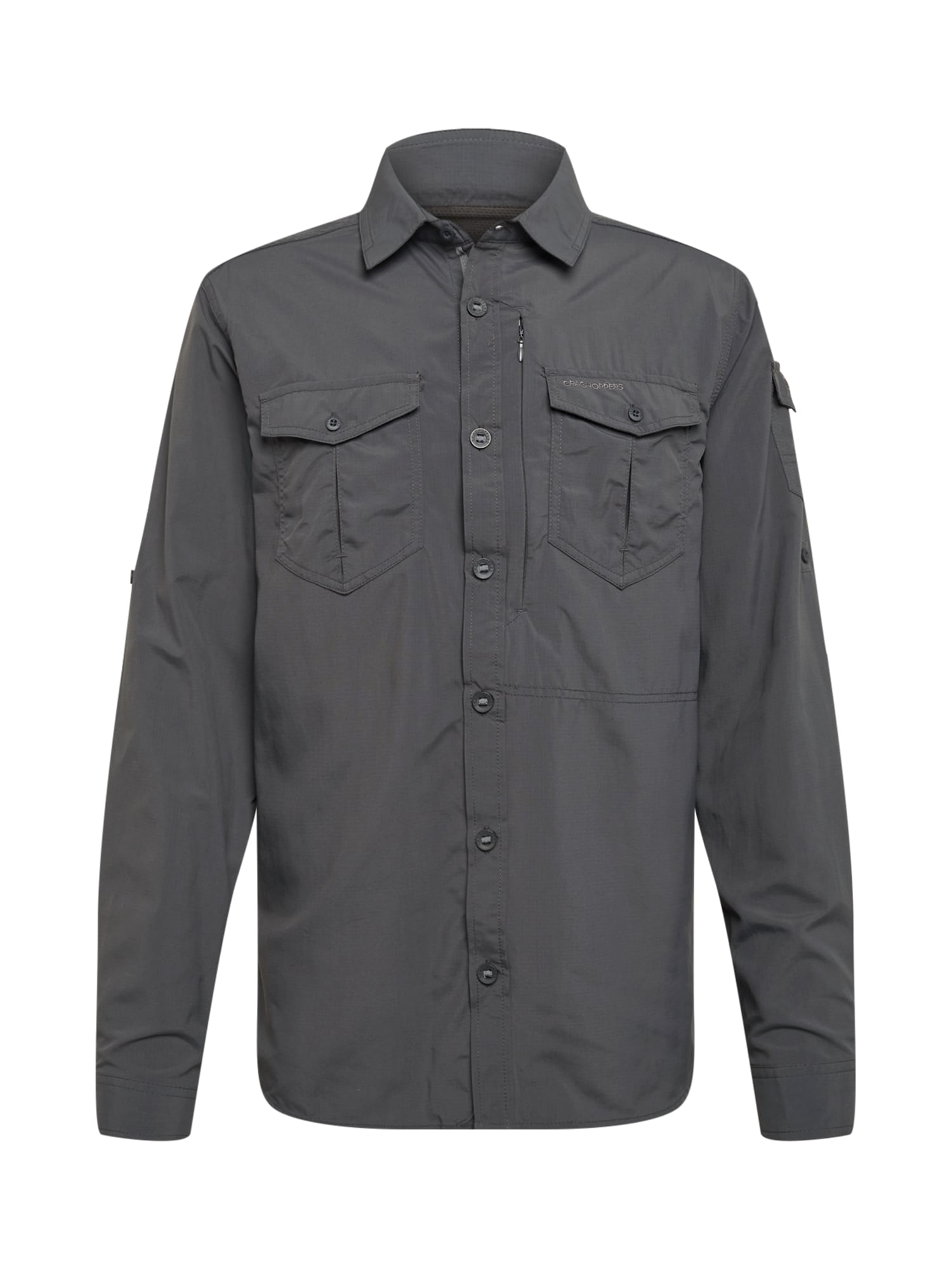 CRAGHOPPERS Funkciniai marškiniai juoda