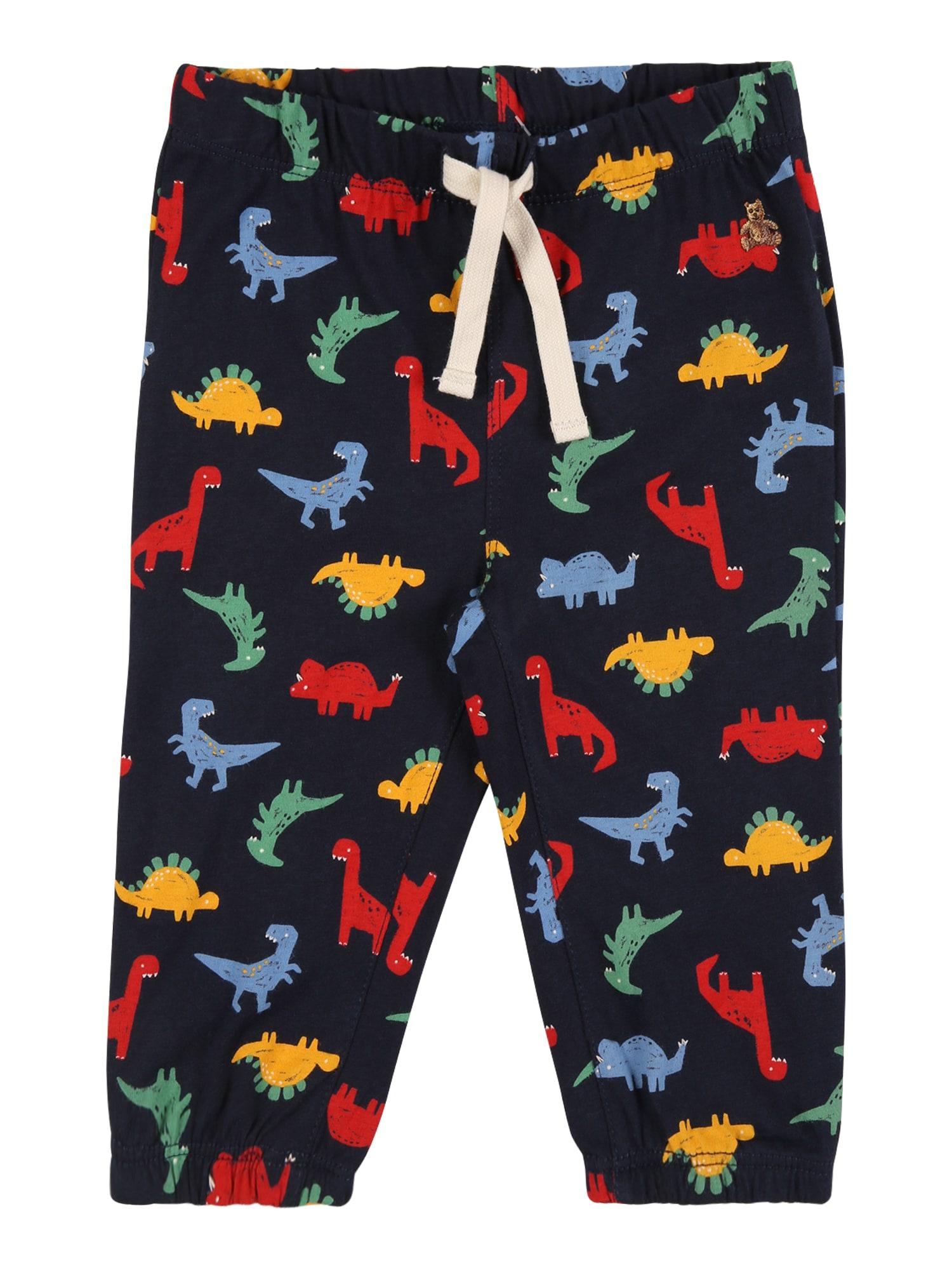 GAP Kalhoty 'DINO'  tmavě modrá / červená / modrá / žlutá / mátová