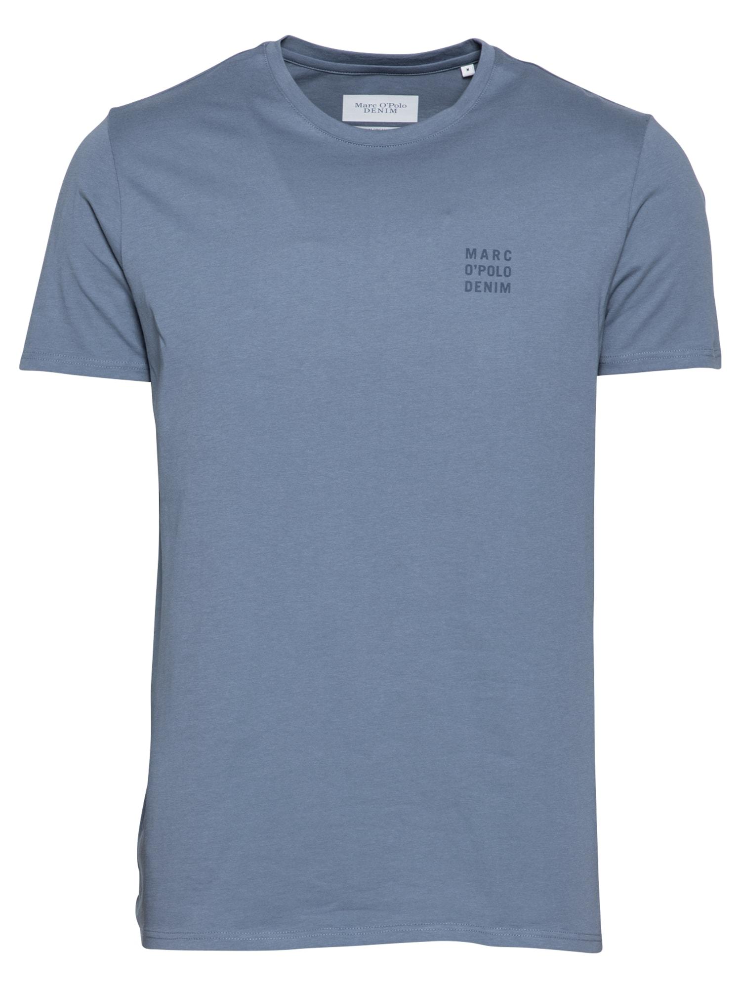 Marc O'Polo DENIM Tričko  chladná modrá