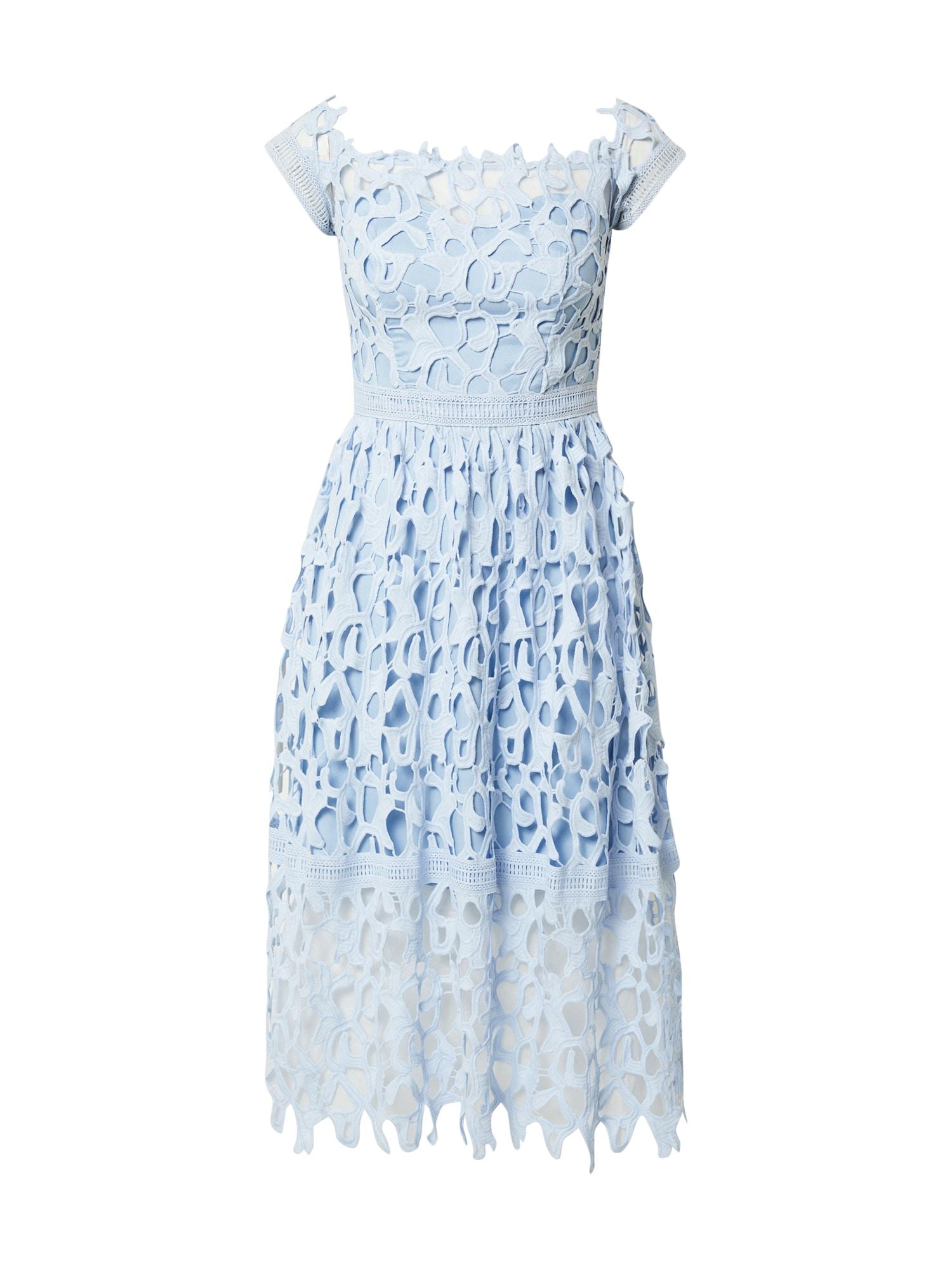 Chi Chi London Kokteilinė suknelė šviesiai mėlyna