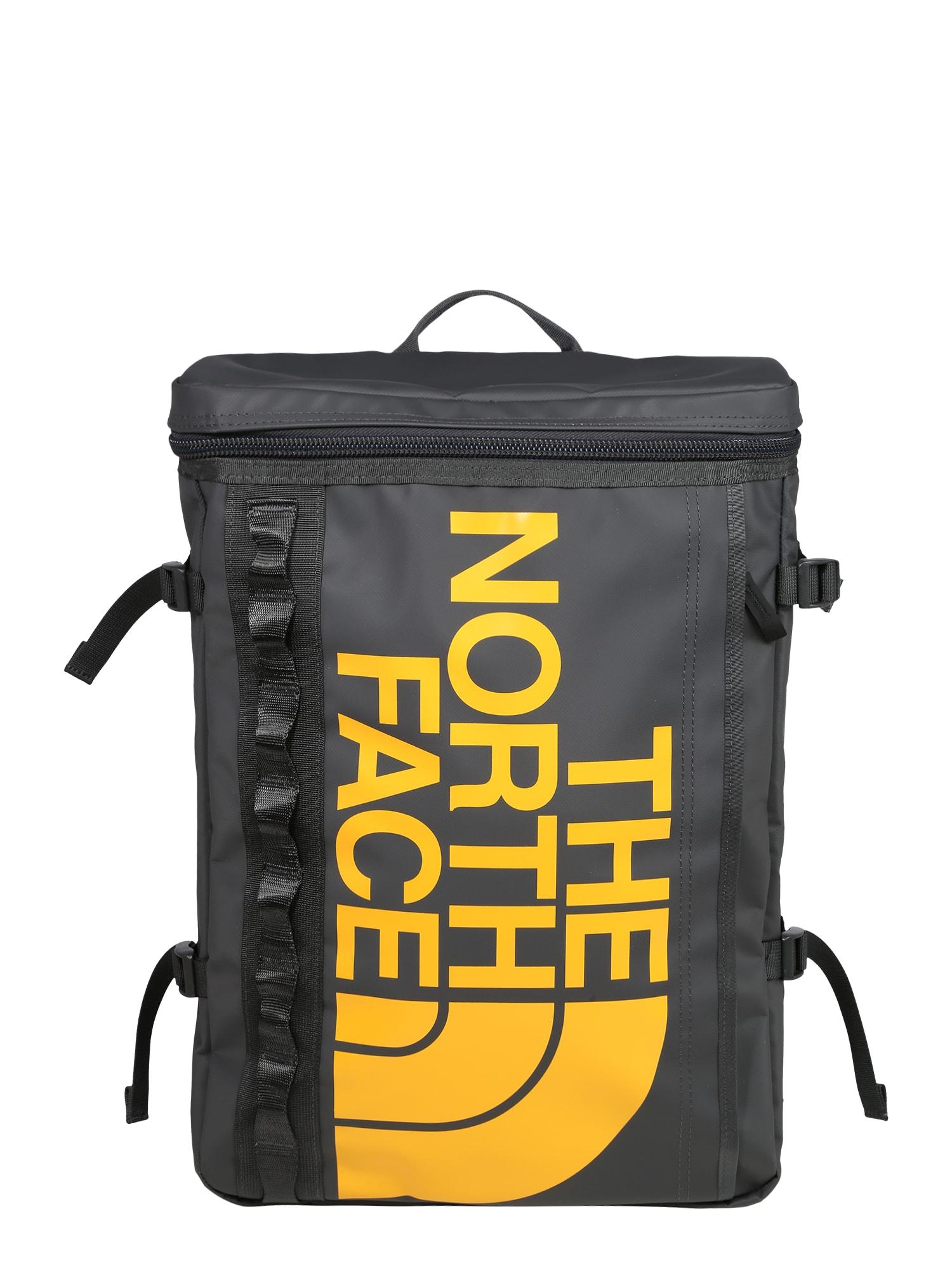 THE NORTH FACE Sportovní batoh  žlutá / šedá