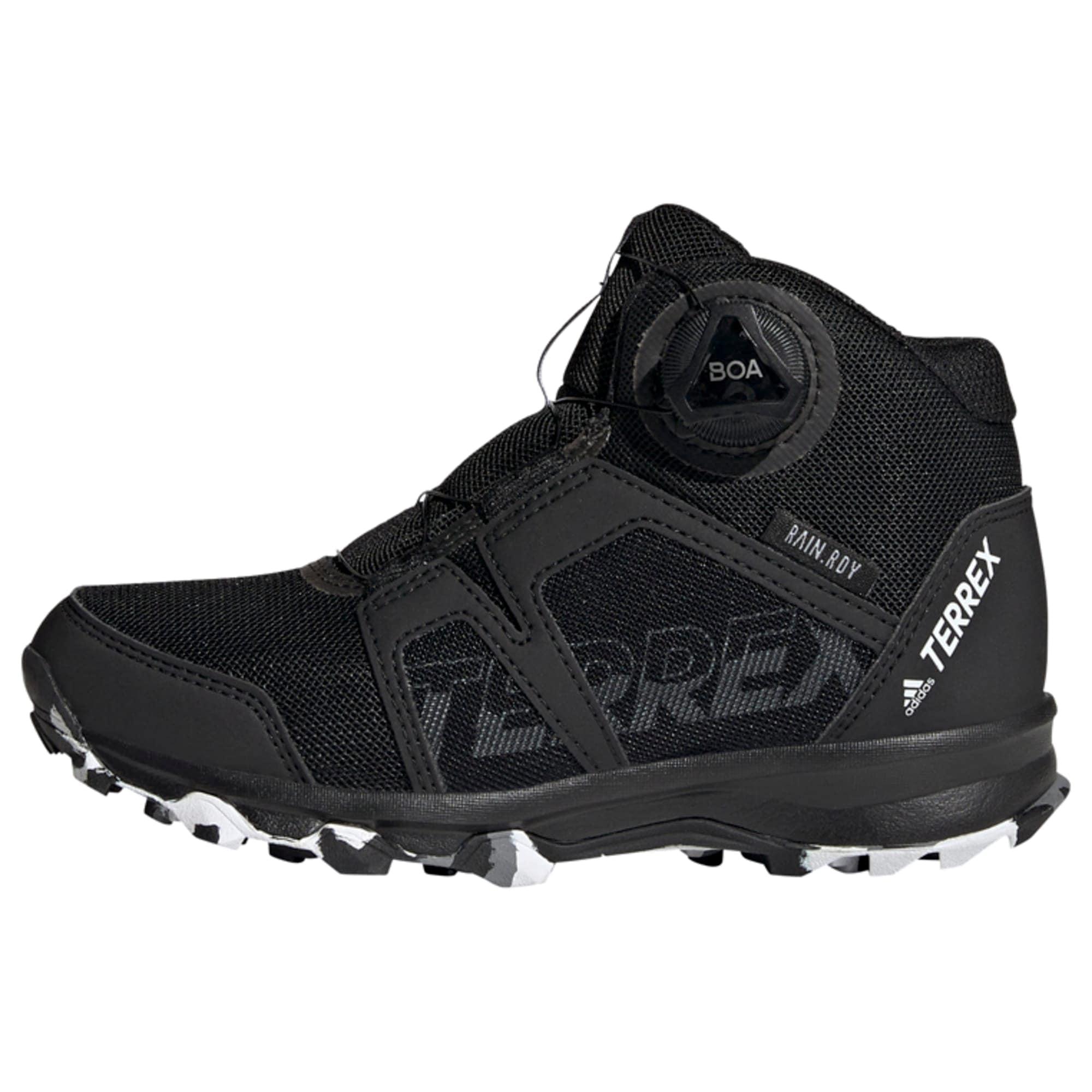ADIDAS PERFORMANCE Auliniai batai juoda / balta / pilka