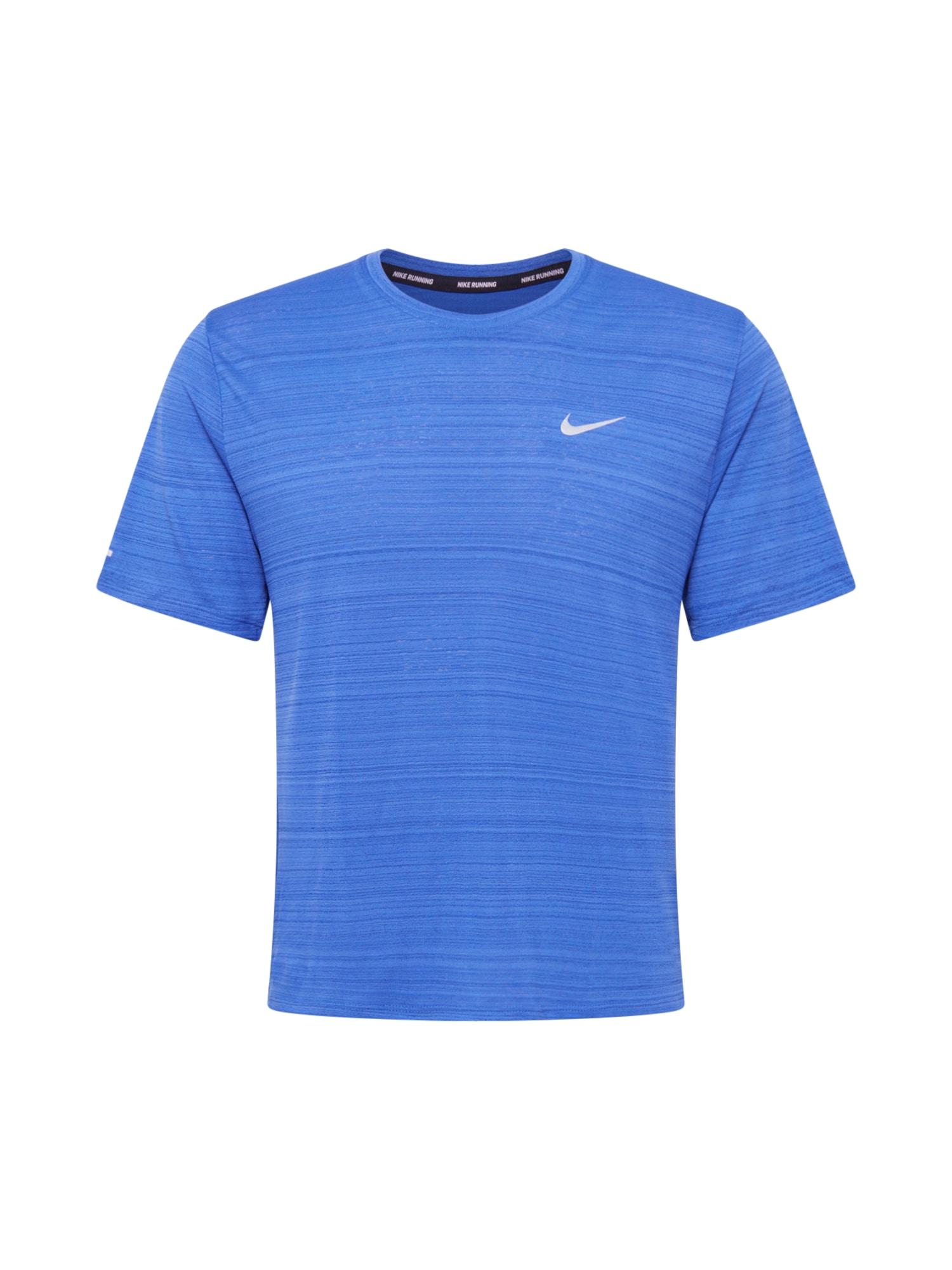 NIKE Funkční tričko 'Miler'  královská modrá