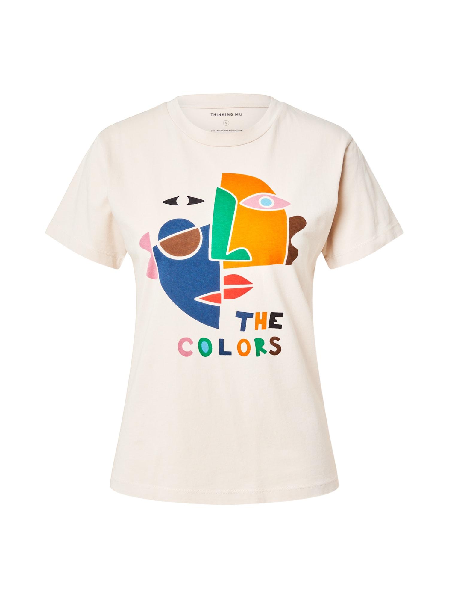 Thinking MU Marškinėliai smėlio spalva / mišrios spalvos