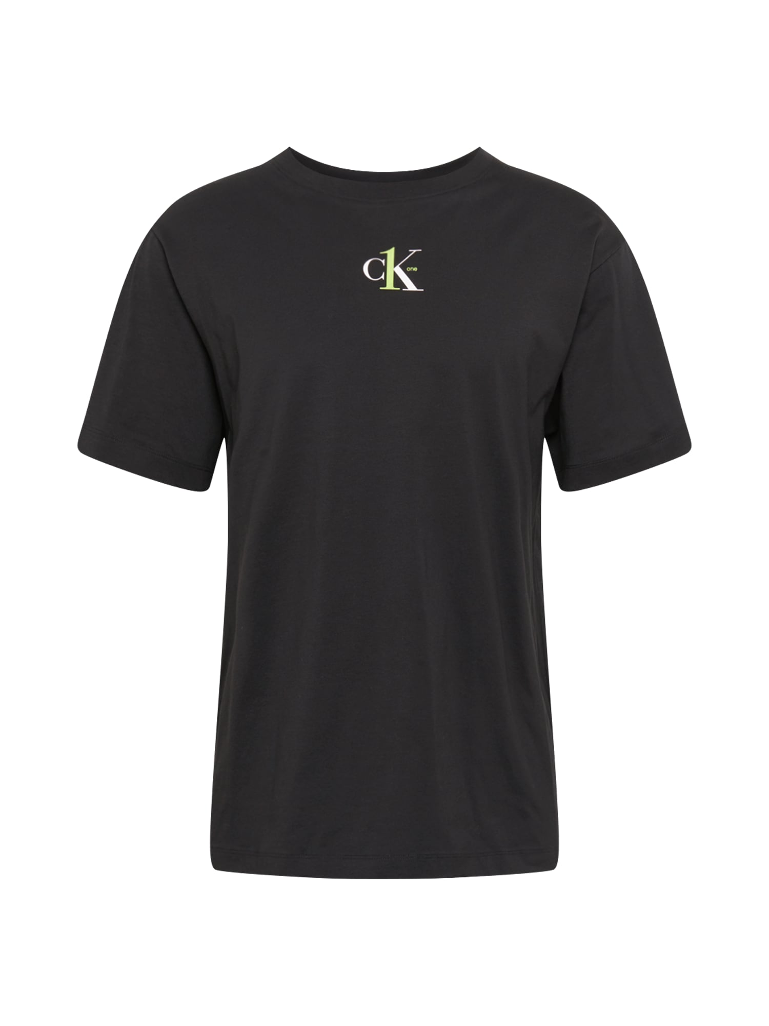 Calvin Klein Jeans Tričko  černá / rákos / bílá