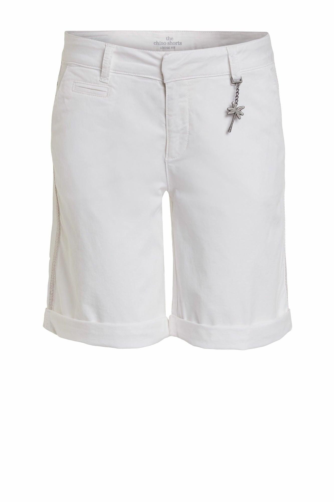 """OUI """"Chino"""" stiliaus kelnės balta"""