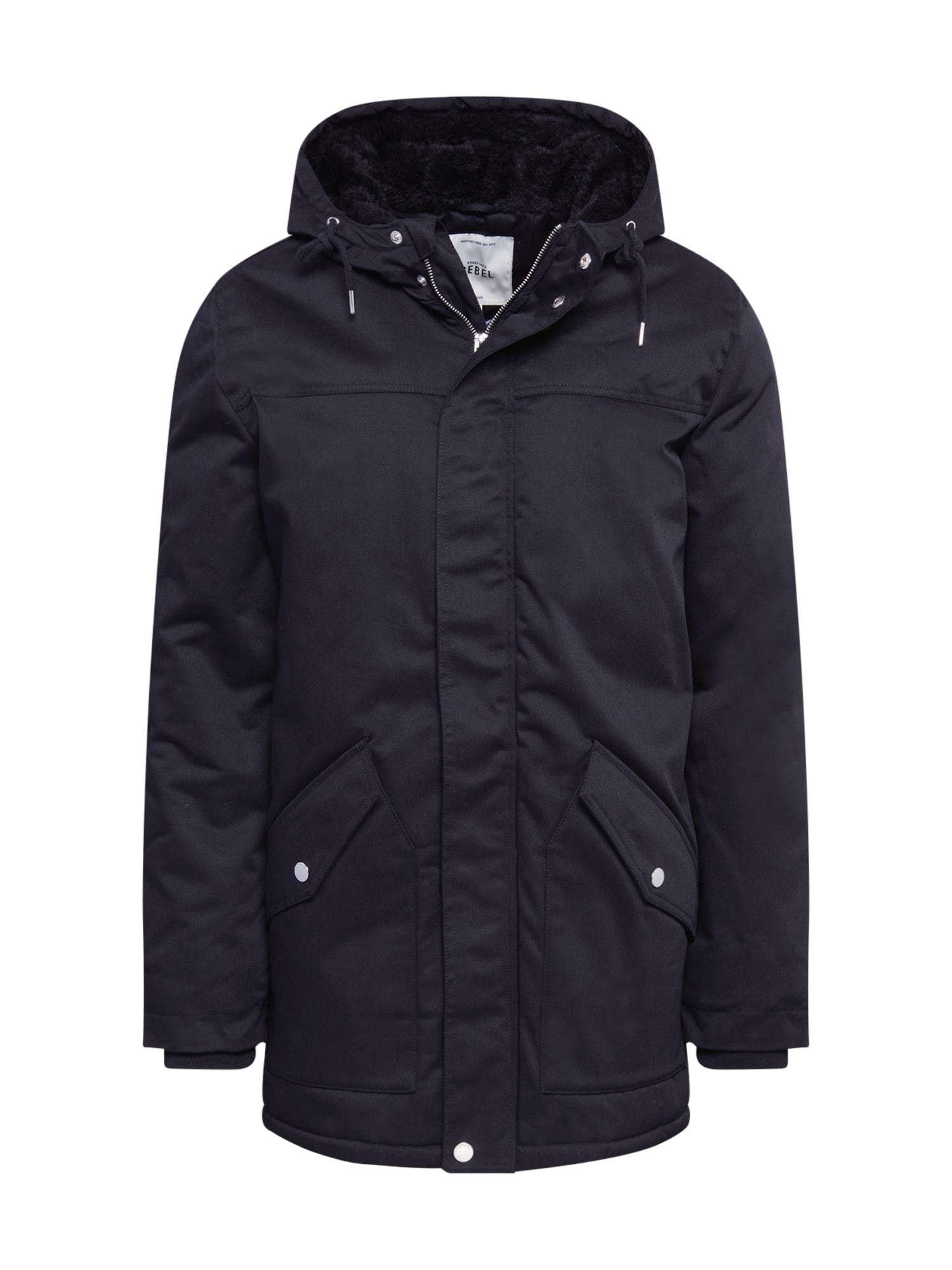 Redefined Rebel Zimní bunda 'Leon'  černá
