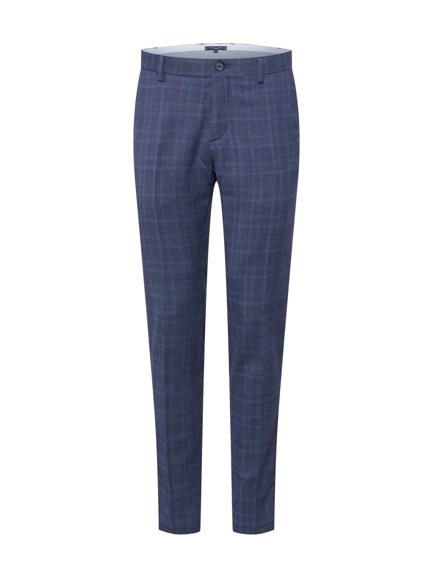 "Tommy Hilfiger Tailored ""Chino"" stiliaus kelnės tamsiai mėlyna / mėlyna"