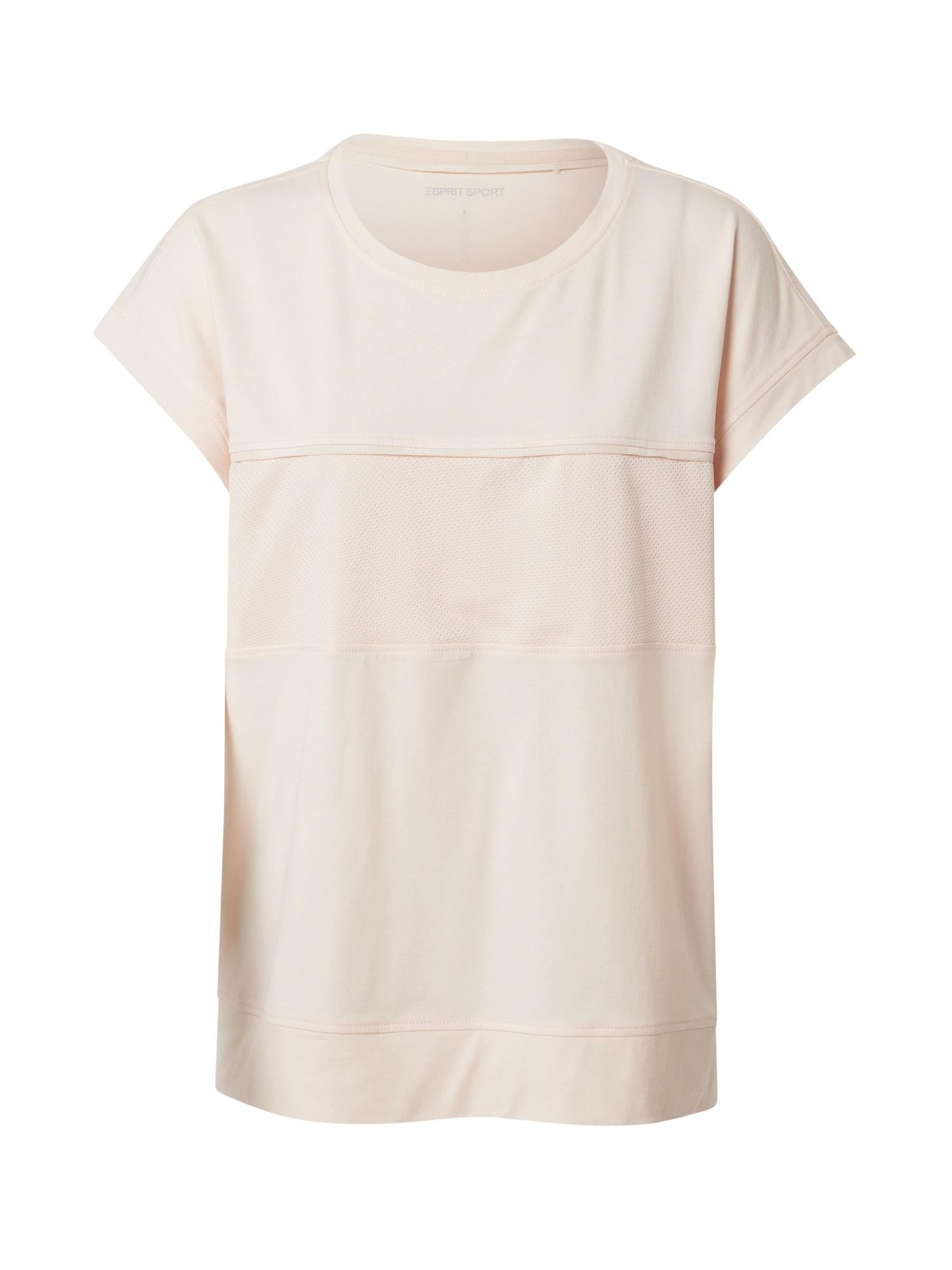 ESPRIT SPORT Sportiniai marškinėliai persikų spalva