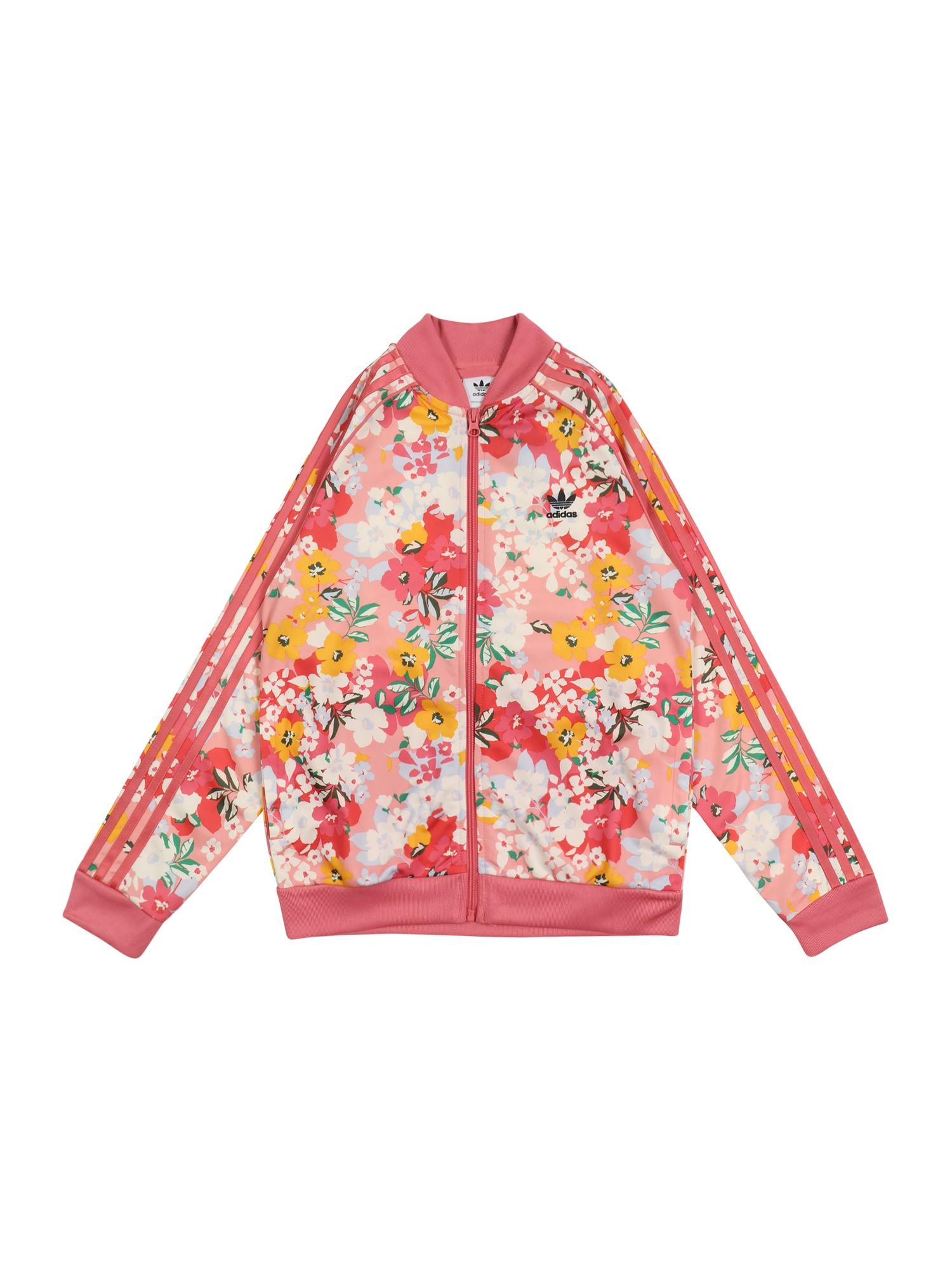 ADIDAS ORIGINALS Džemperis rožių spalva / mišrios spalvos