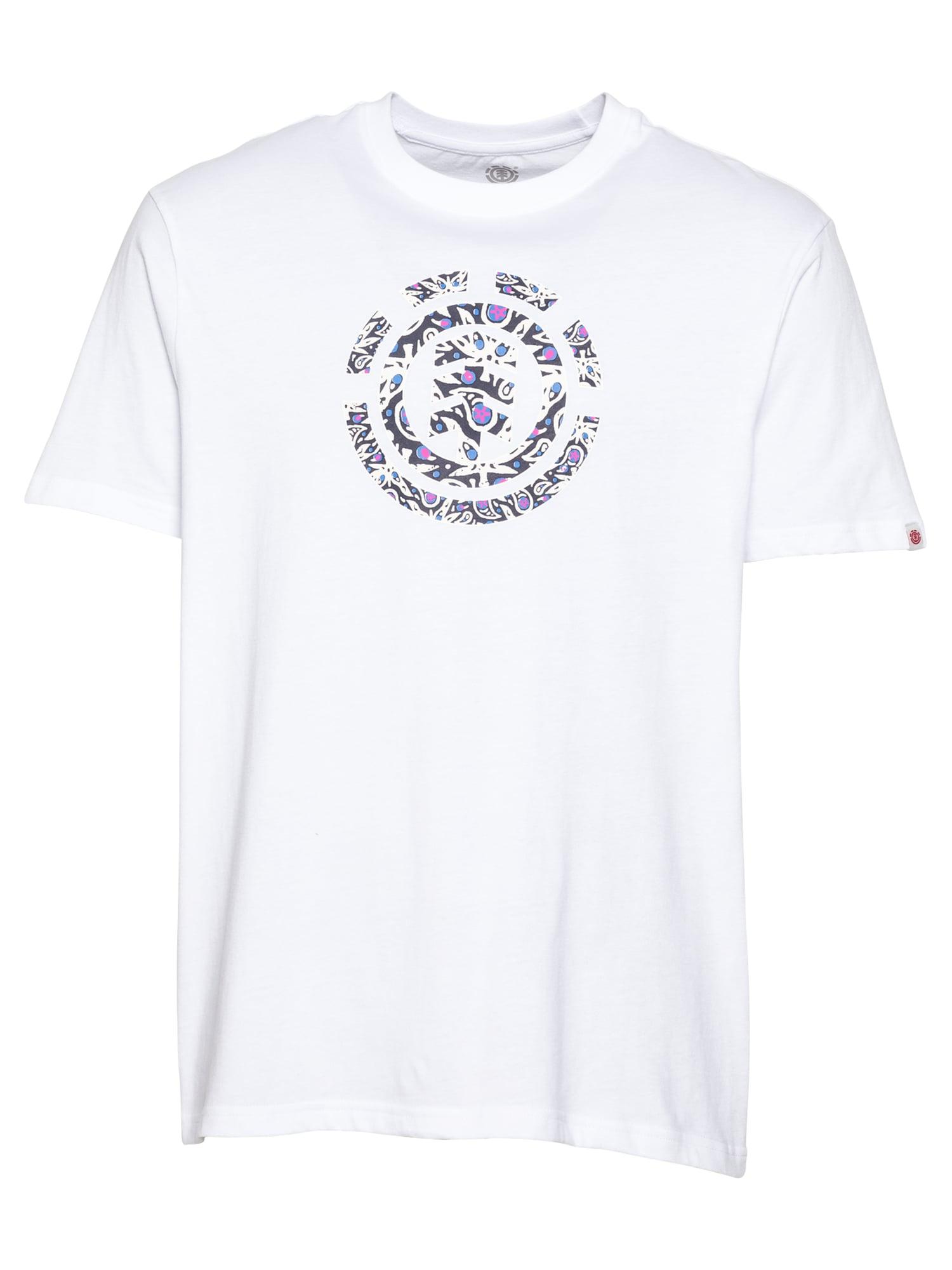 ELEMENT Marškinėliai natūrali balta / tamsiai mėlyna jūros spalva / dangaus žydra / rožinė