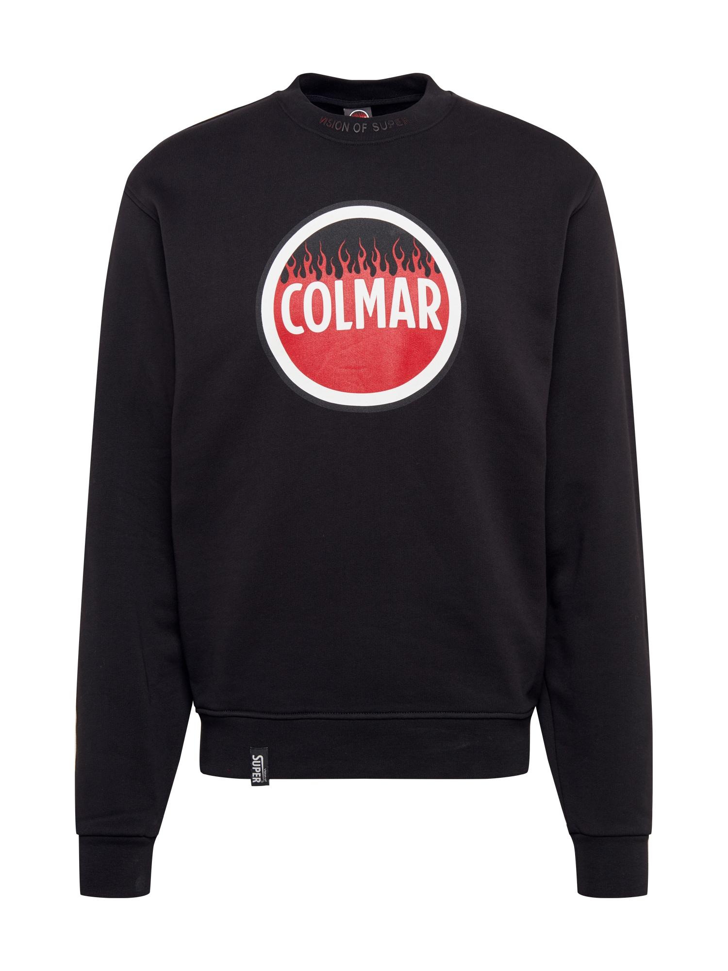 Colmar Mikina  černá / červená / bílá
