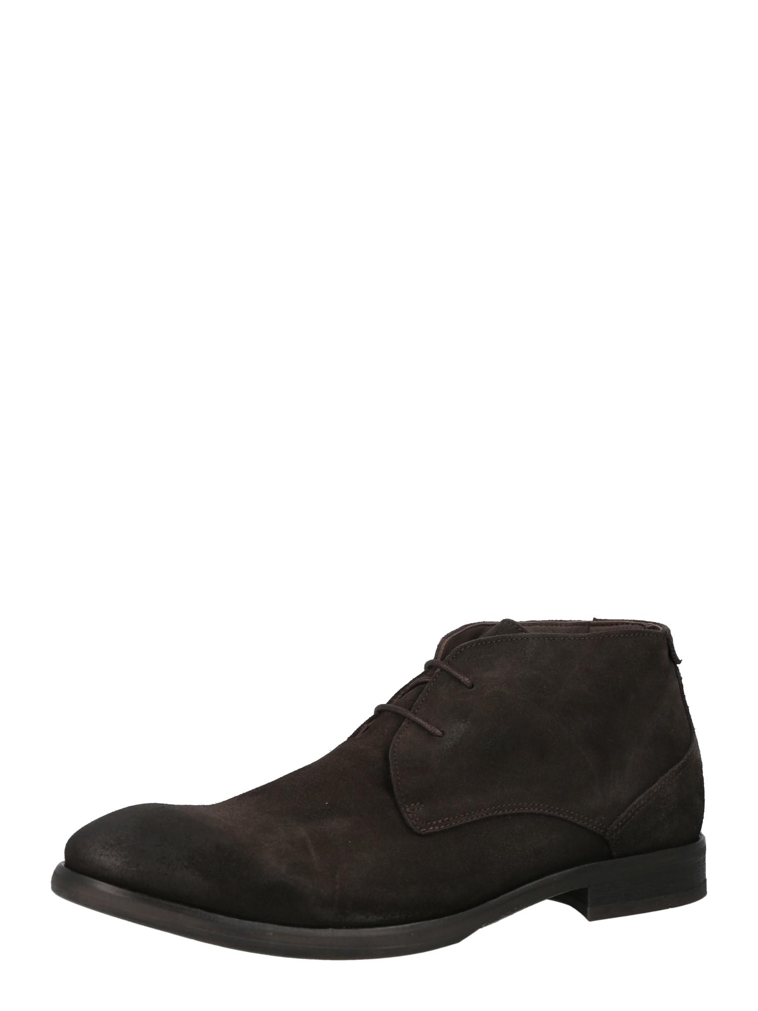 Hudson London Šněrovací boty 'CRUISE'  tmavě hnědá