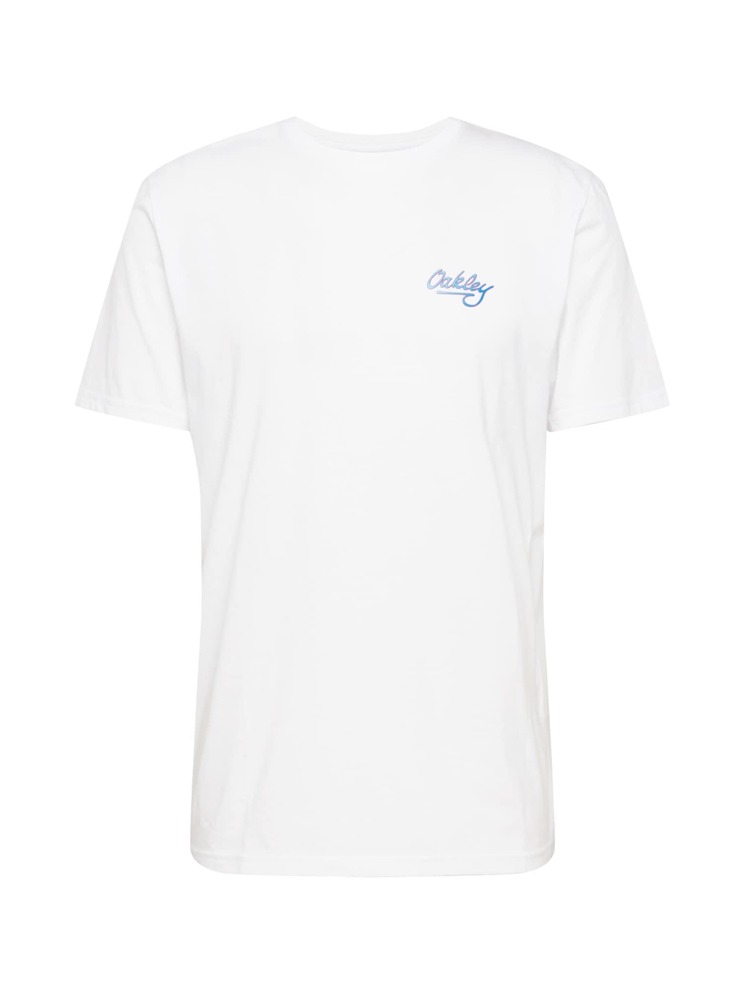 OAKLEY Marškinėliai balta / mėlyna / purpurinė