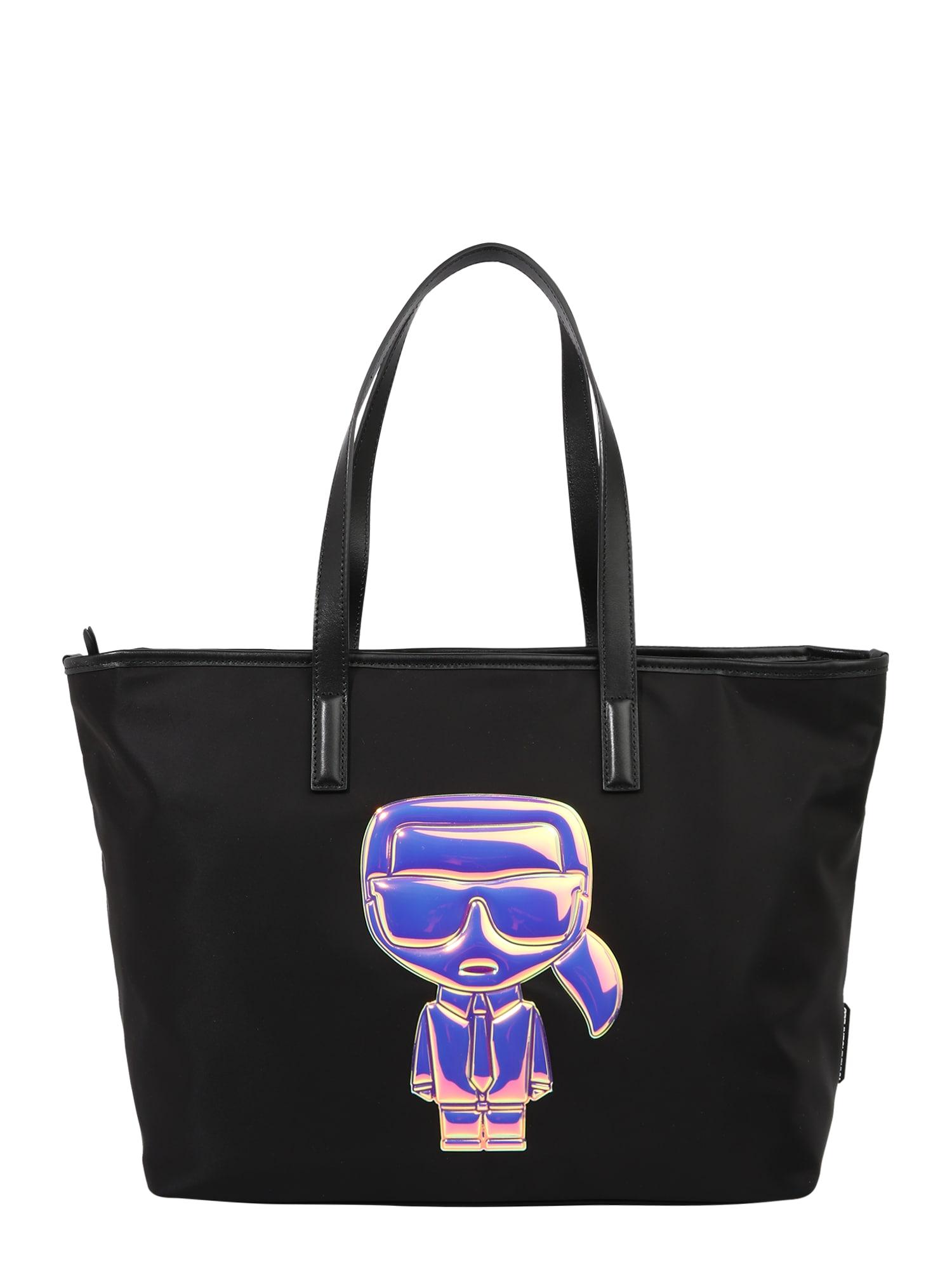 Karl Lagerfeld Pirkinių krepšys juoda
