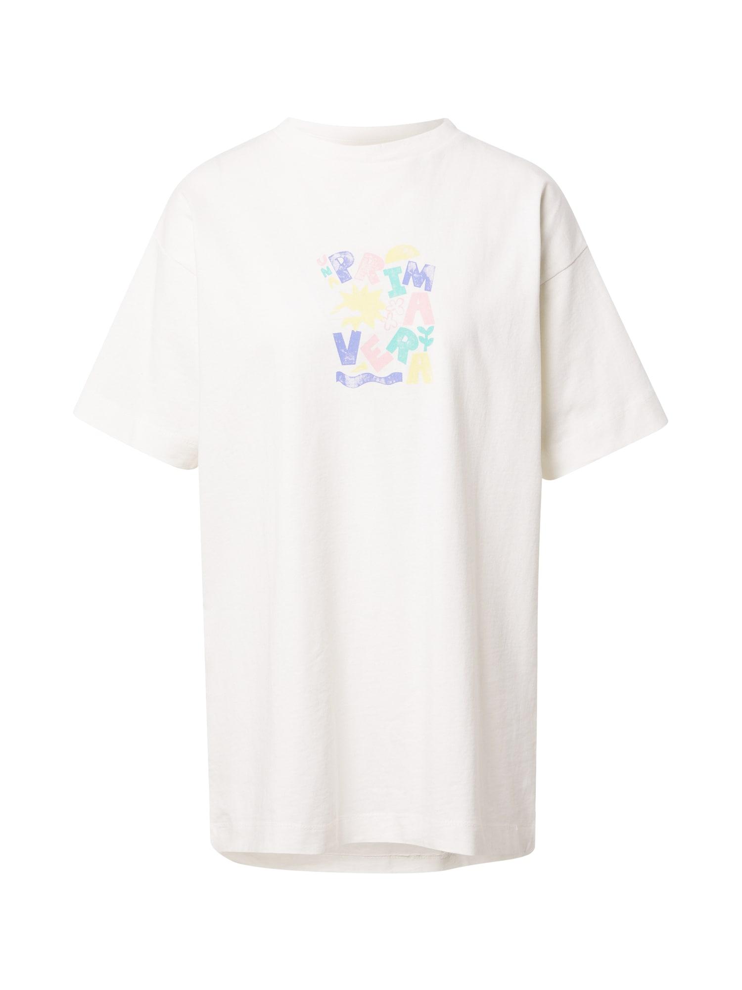 Damson Madder Laisvi marškinėliai balta / mišrios spalvos