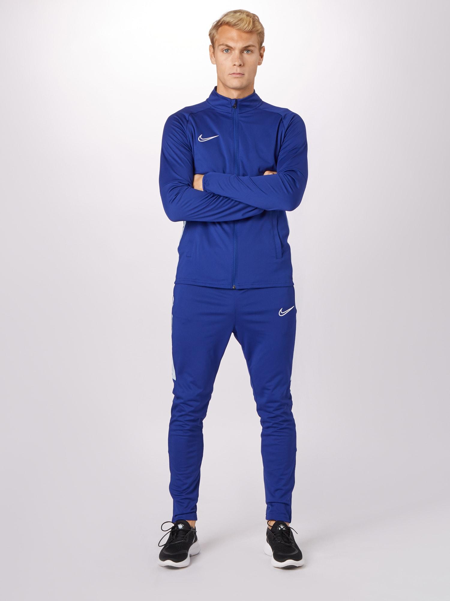 NIKE Sportovní souprava 'Nike Dri-FIT Academy'  bílá / královská modrá