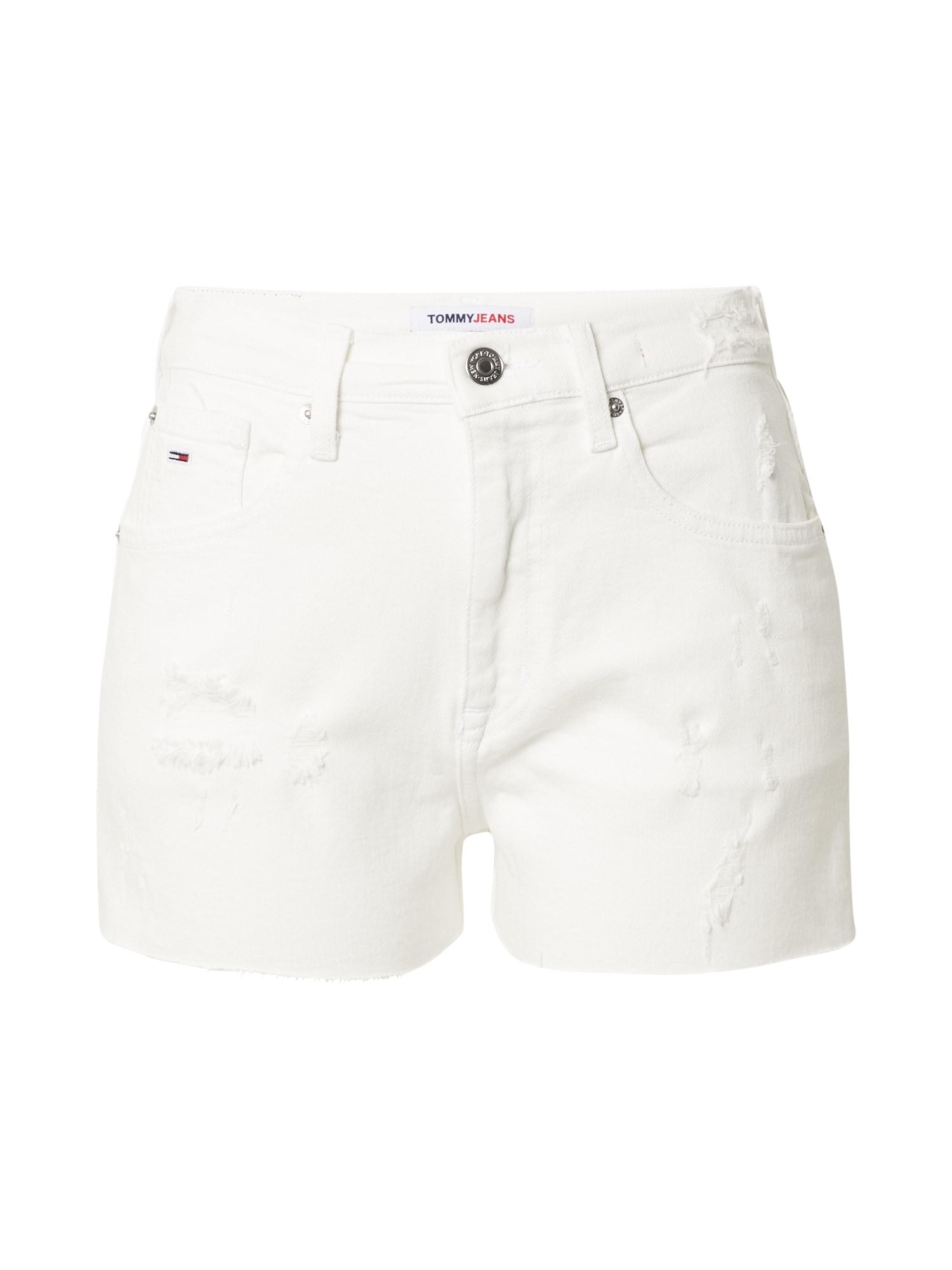 Tommy Jeans Džinsai balto džinso spalva