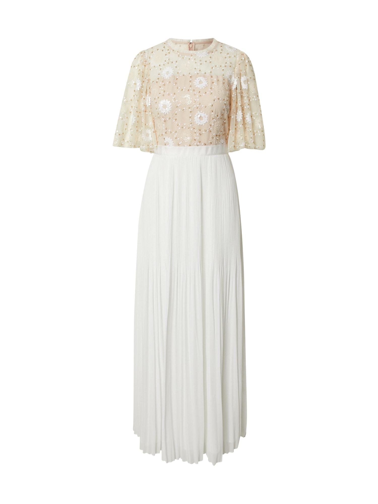 APART Vakarinė suknelė kremo / kūno spalva