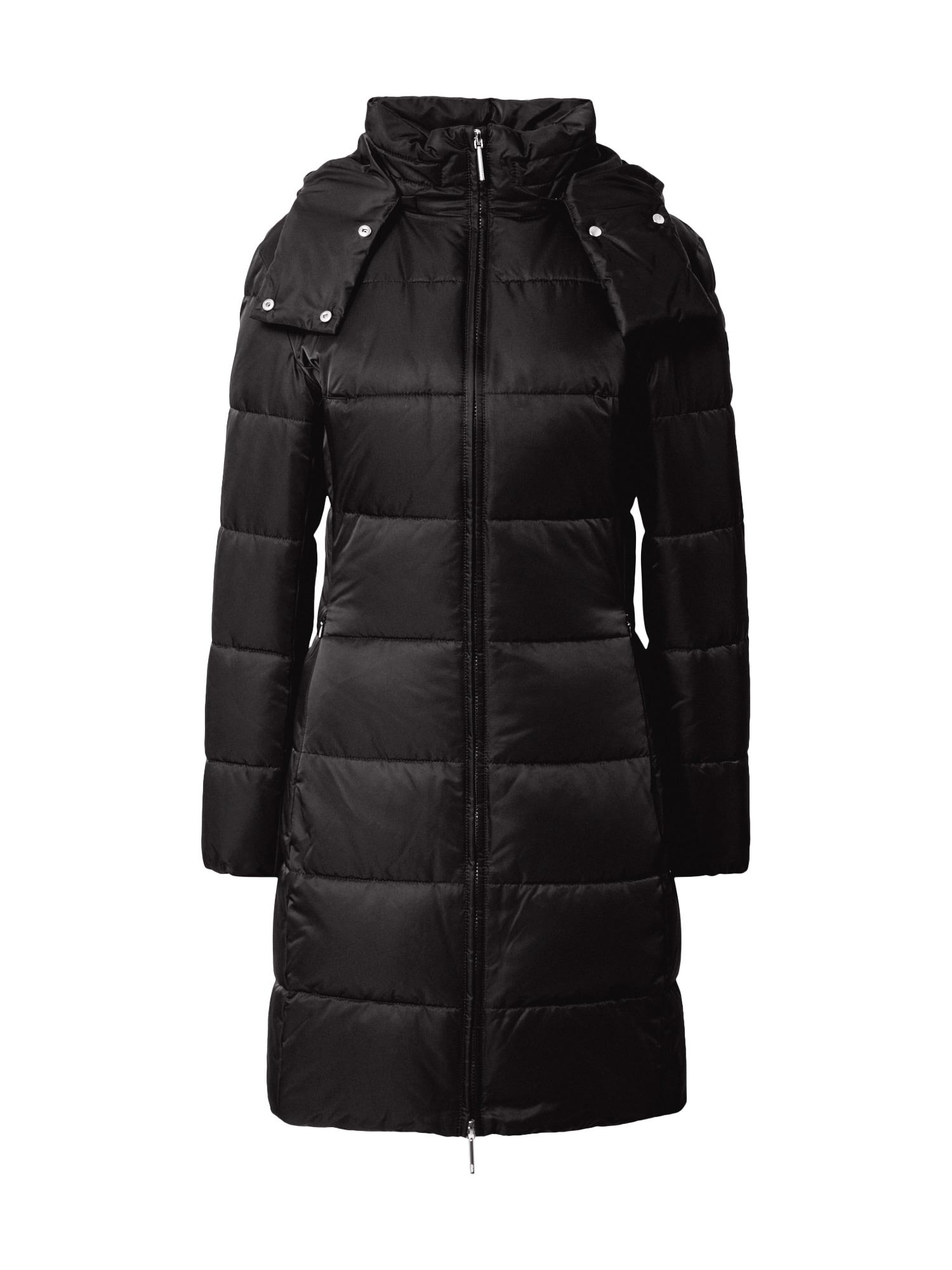 HUGO Rudeninis-žieminis paltas 'Fleuris-1' juoda