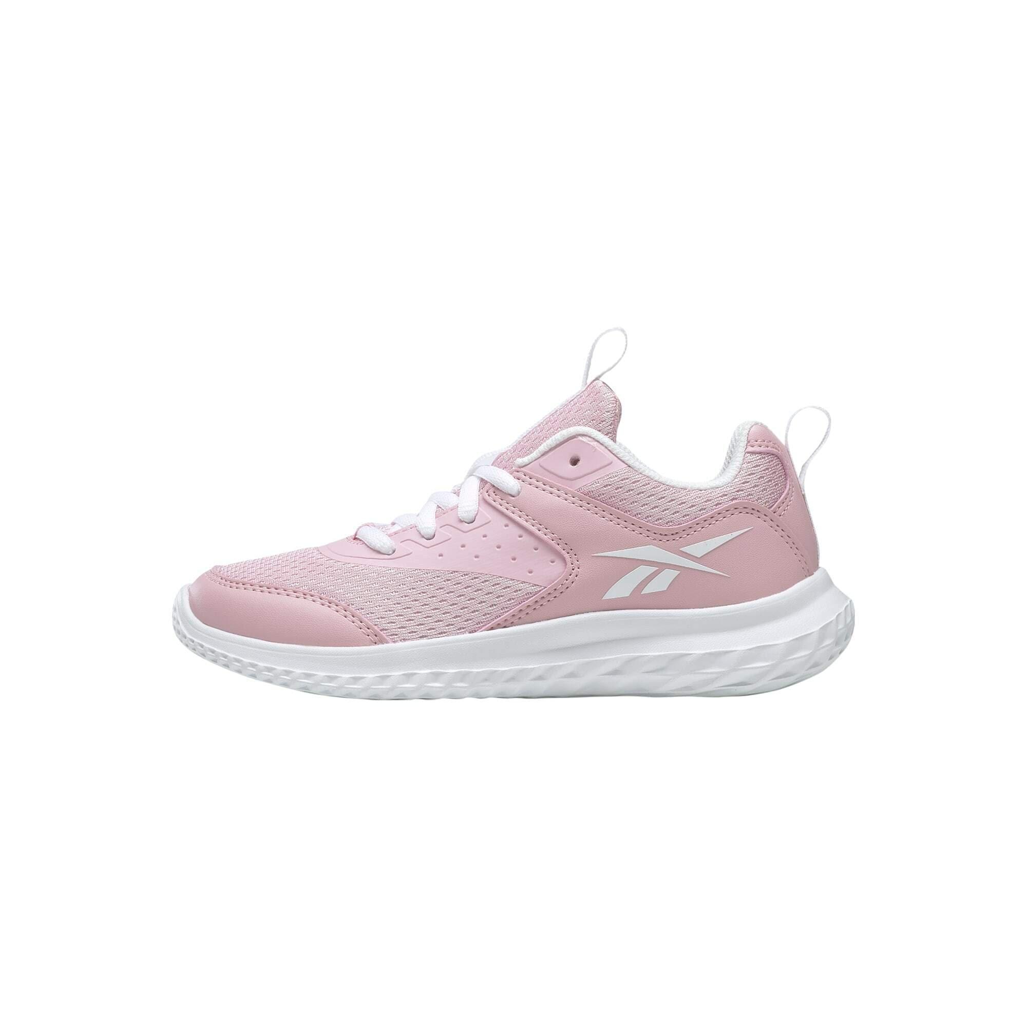 REEBOK Sportiniai batai 'Rush Runner 4' rožių spalva / balta