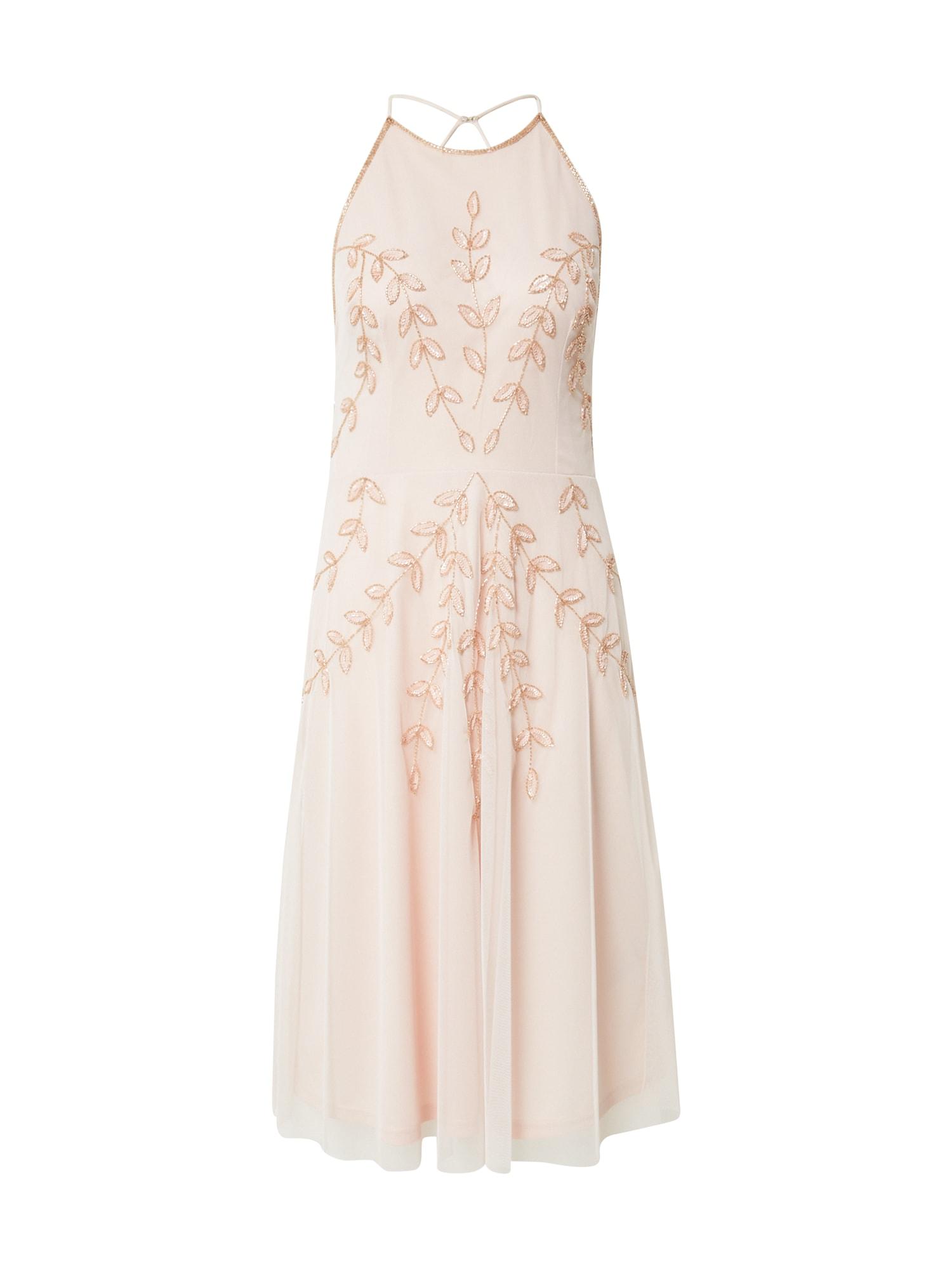 Hailey Logan Kokteilinė suknelė rožių spalva