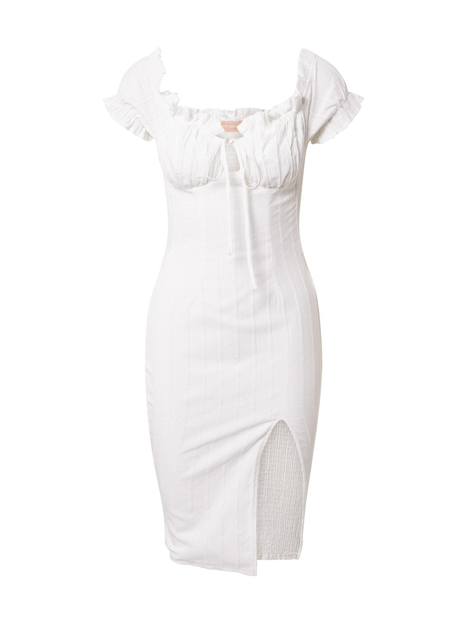 Love Triangle Suknelė balta