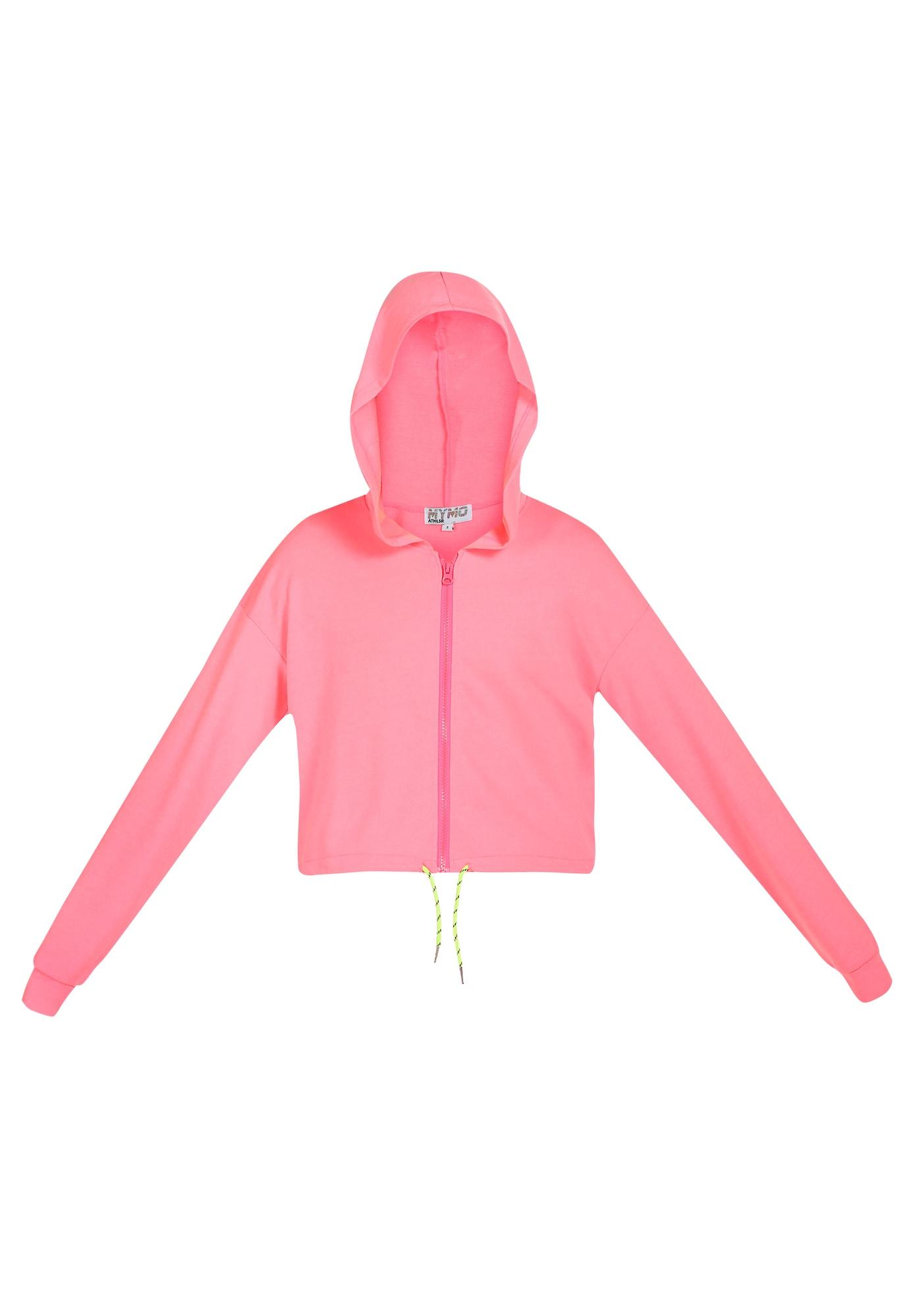 myMo ATHLSR Sportinis džemperis neoninė rožinė