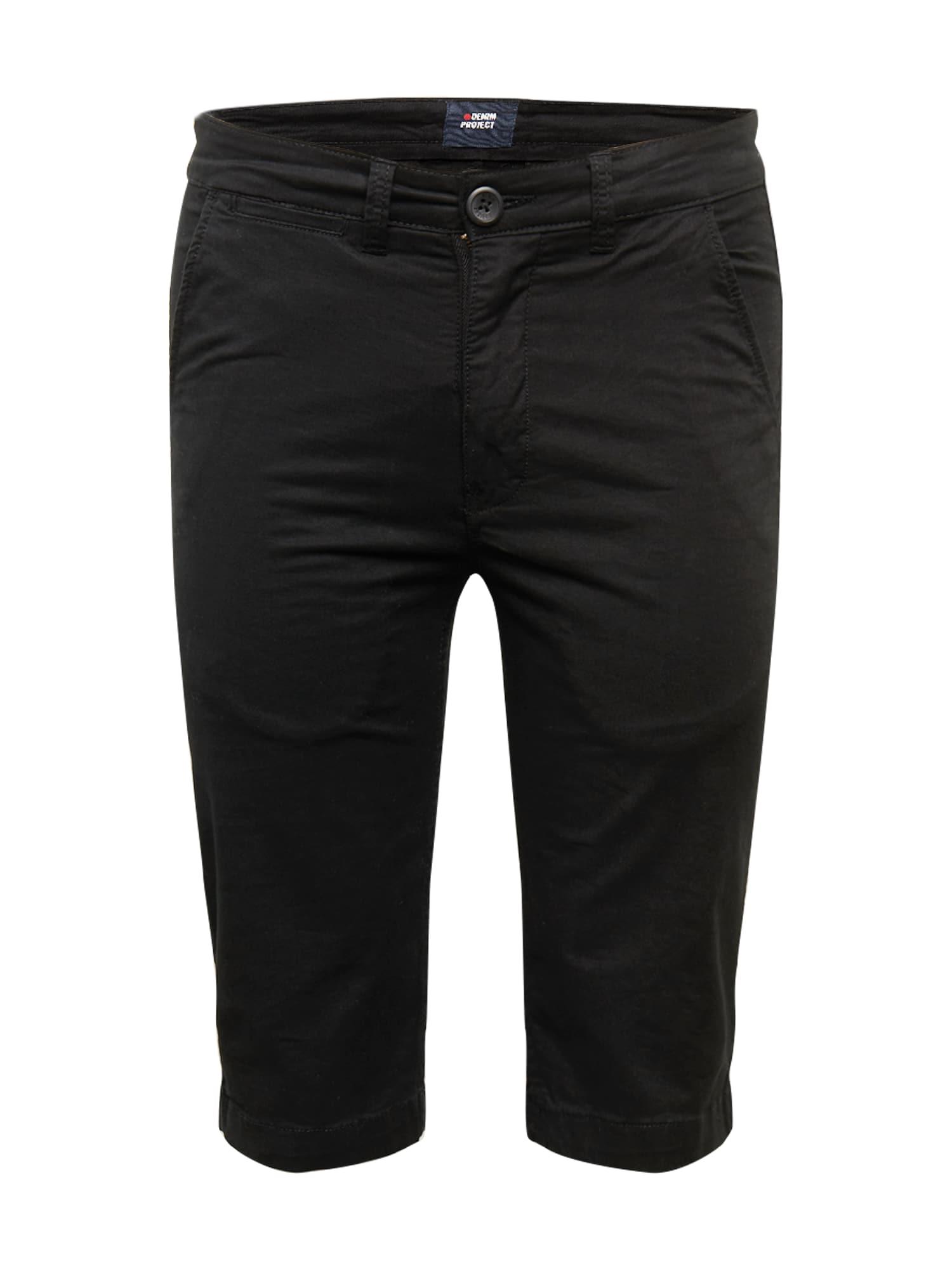 Denim Project Kelnės 'Kadir ' juoda