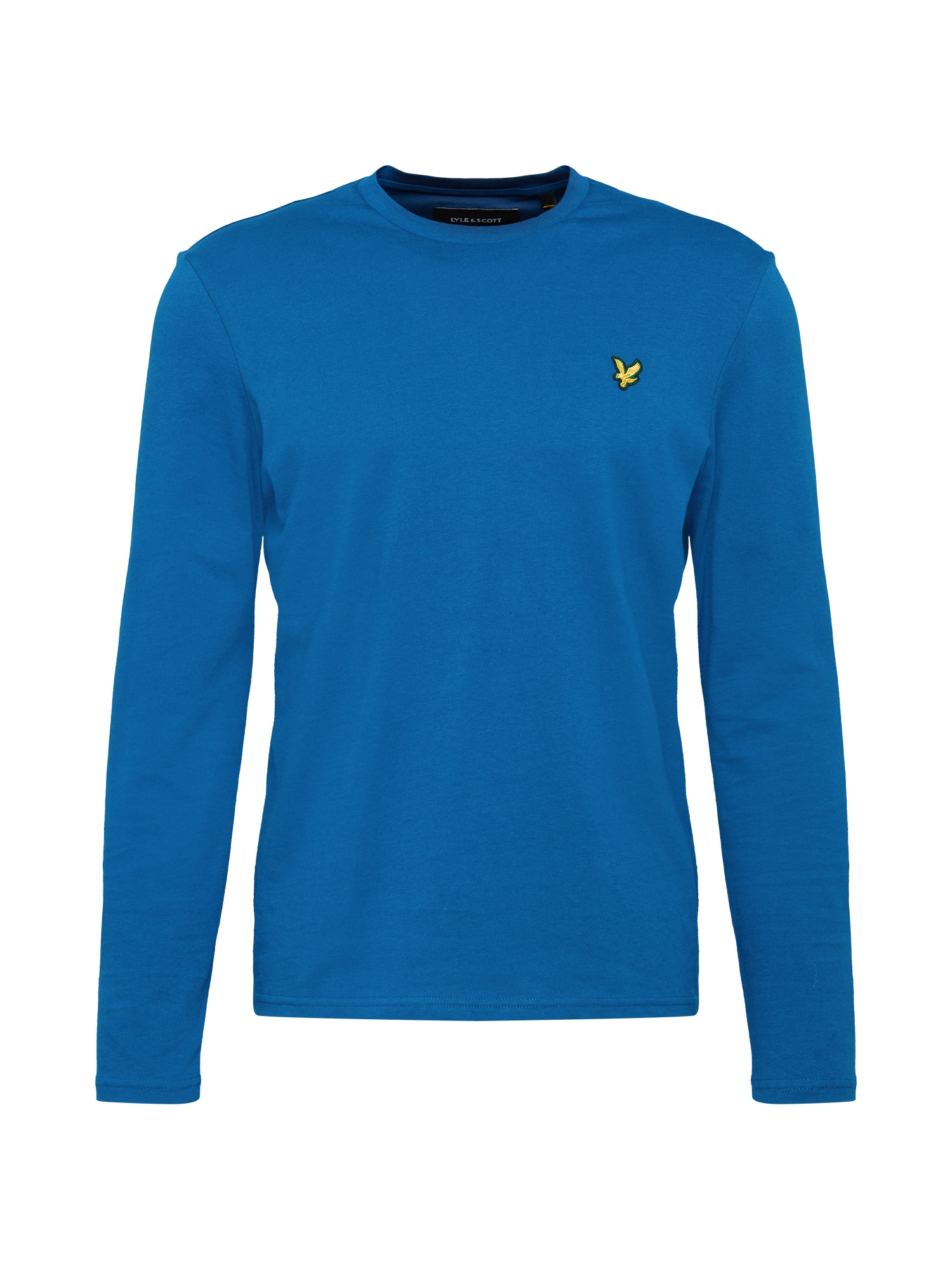 Lyle & Scott Tričko  žlutá / královská modrá