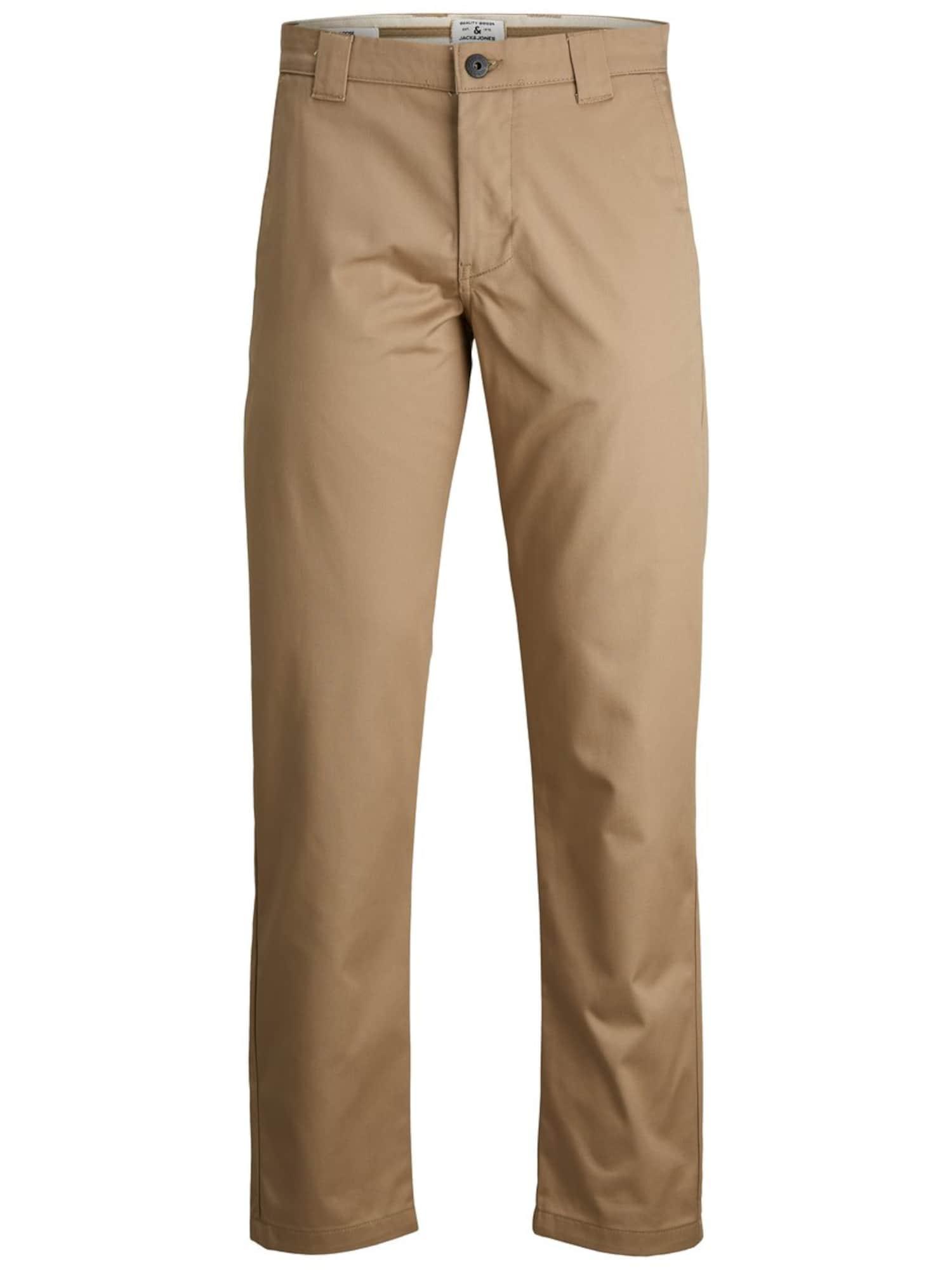 JACK & JONES Chino kalhoty 'KANE TOBIS'  světle béžová