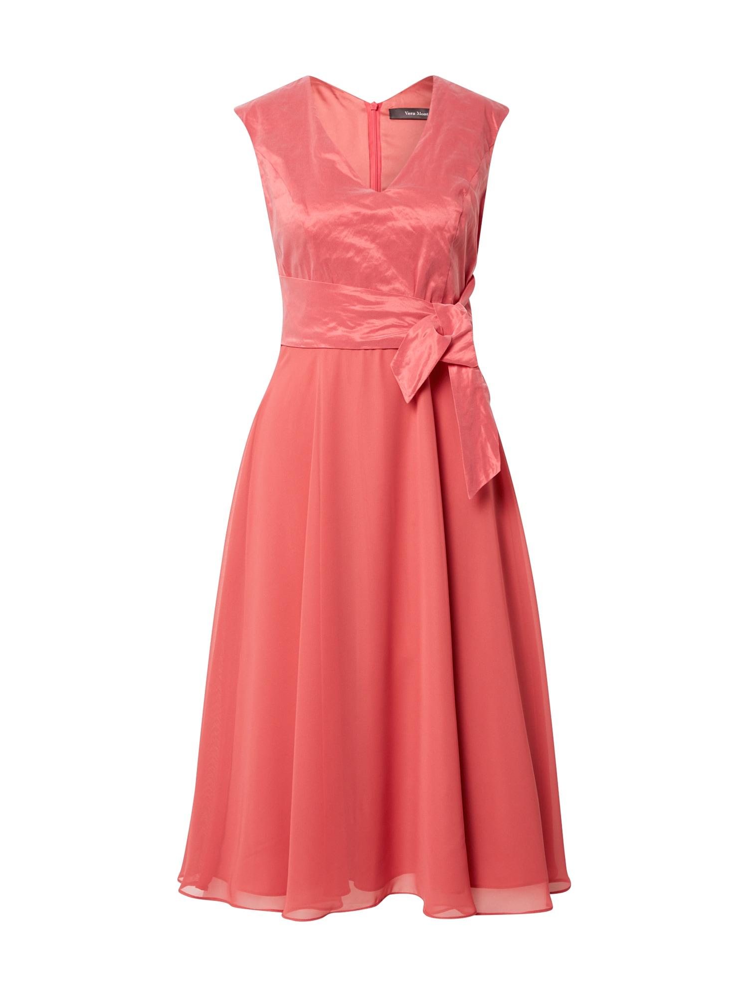 Vera Mont Kokteilinė suknelė melionų spalva