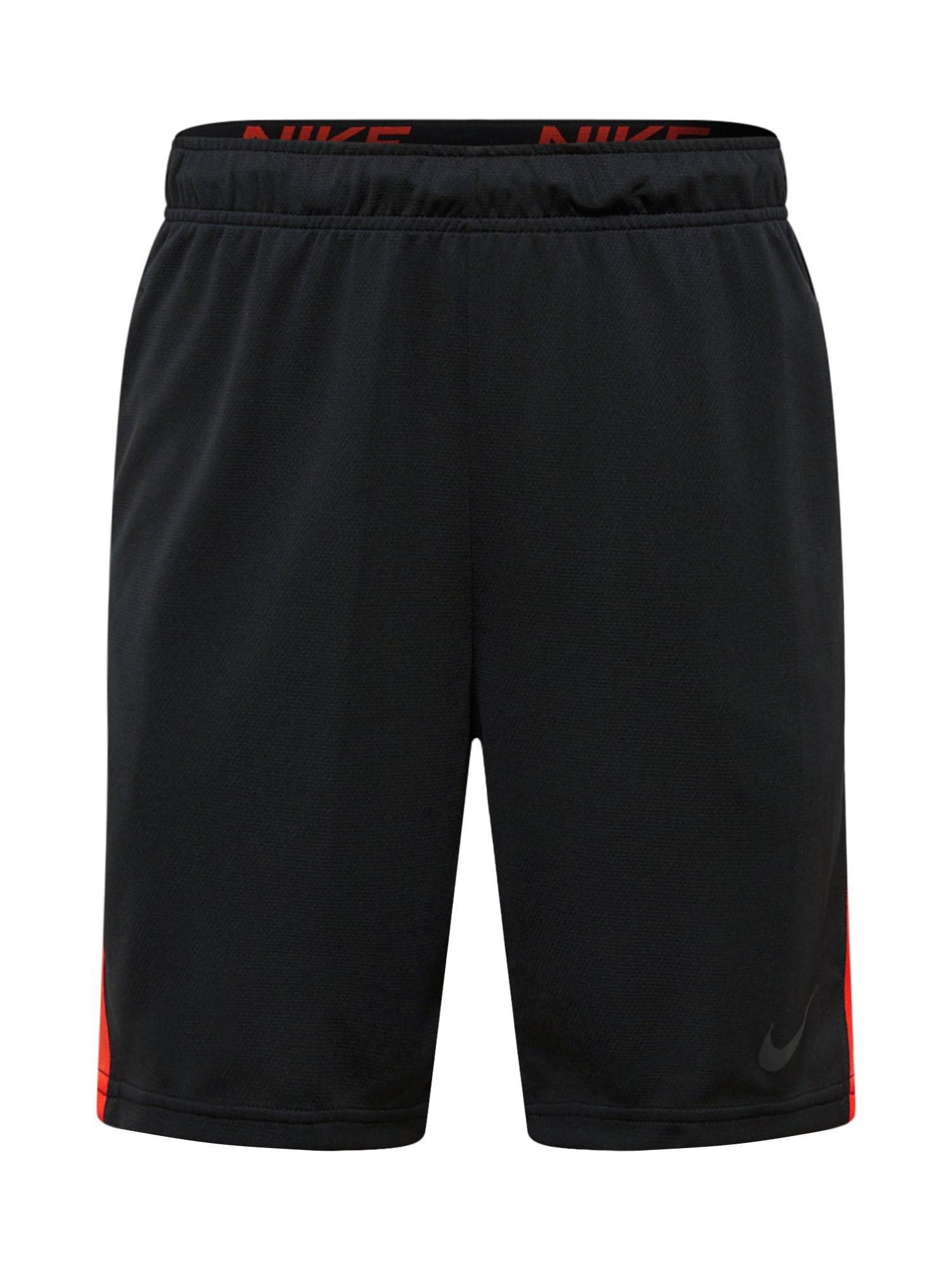 NIKE Sportinės kelnės oranžinė / juoda