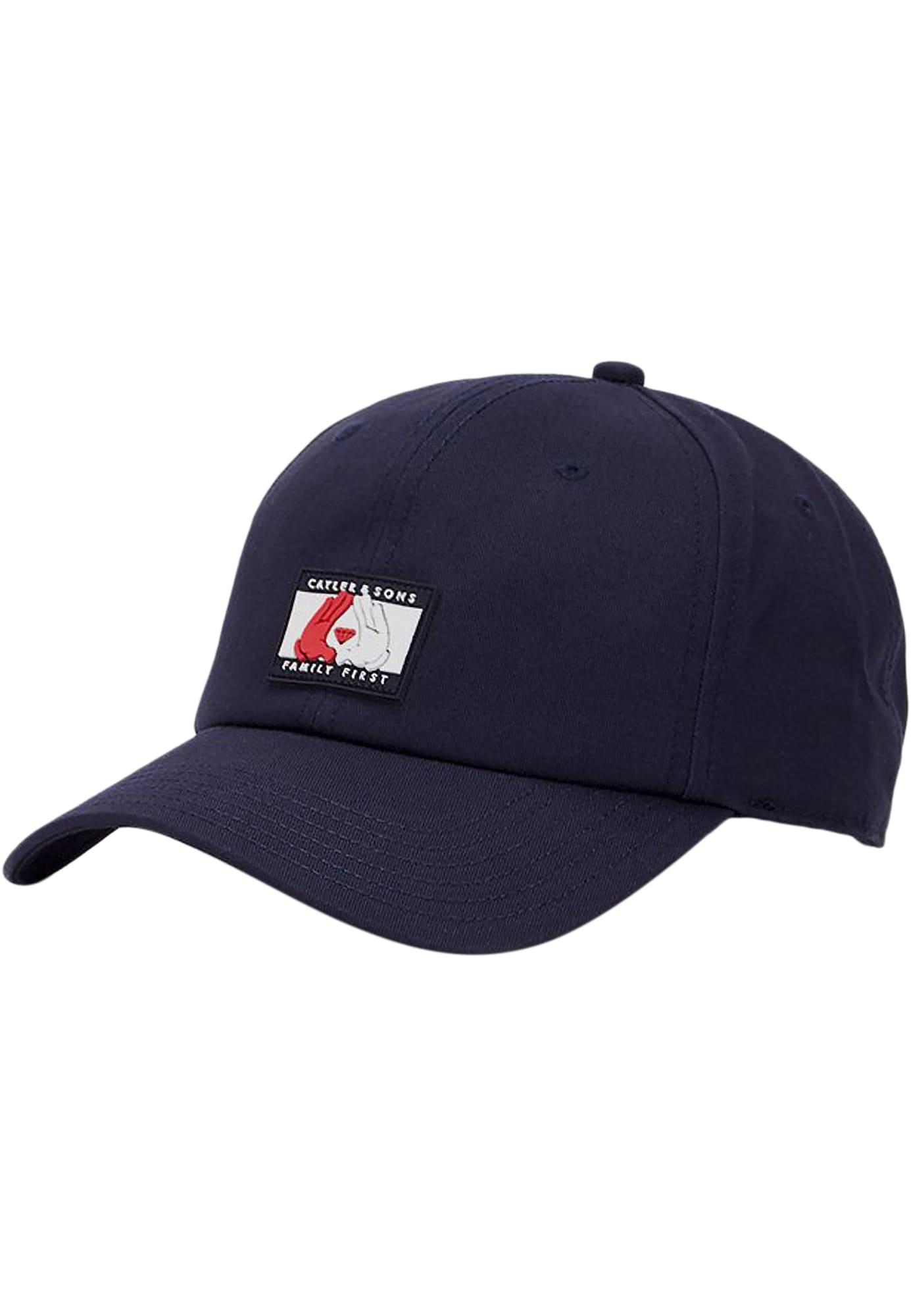 Cayler & Sons Kepurė tamsiai mėlyna / balta / raudona