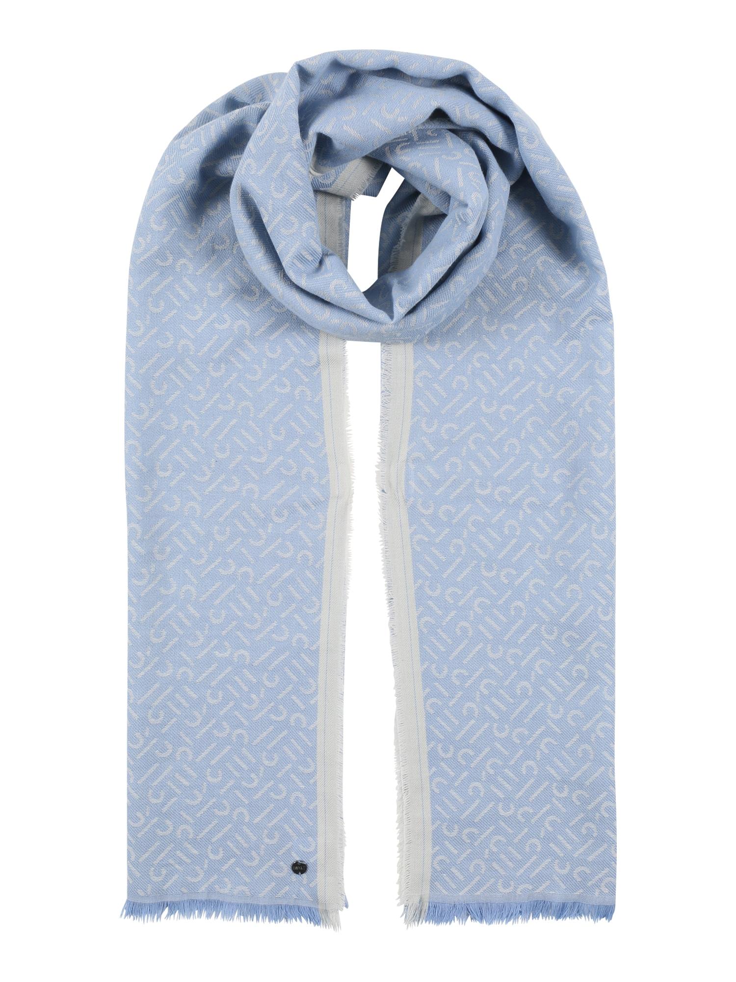 ESPRIT Šalikas mėlyna dūmų spalva / šviesiai pilka