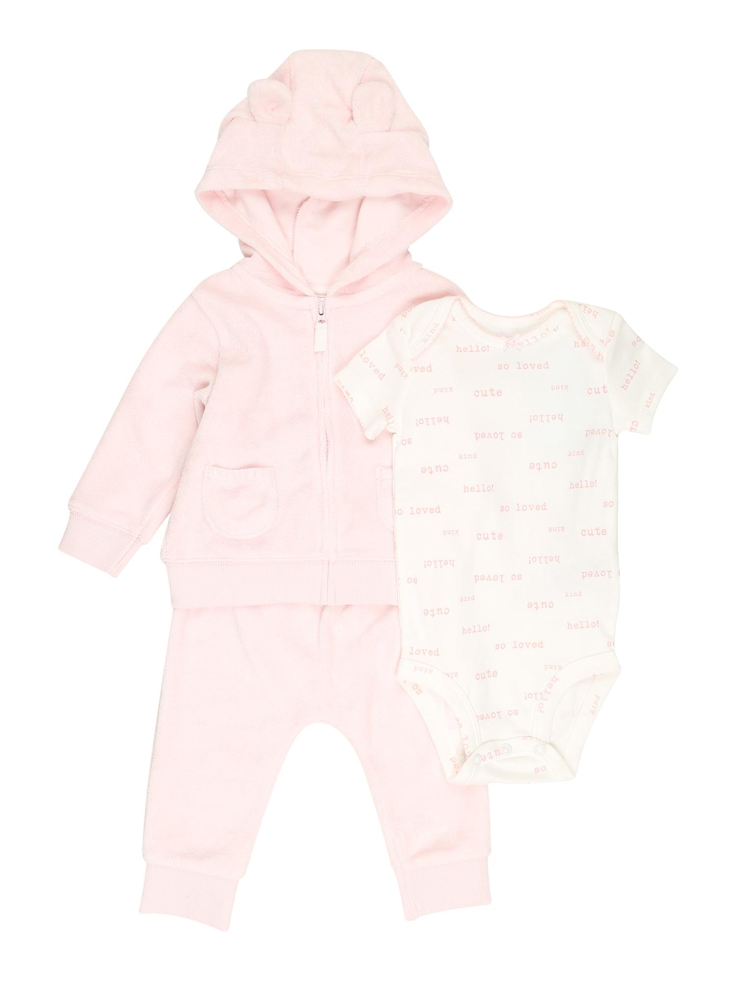 Carter's Rinkinys rožinė / pudros spalva