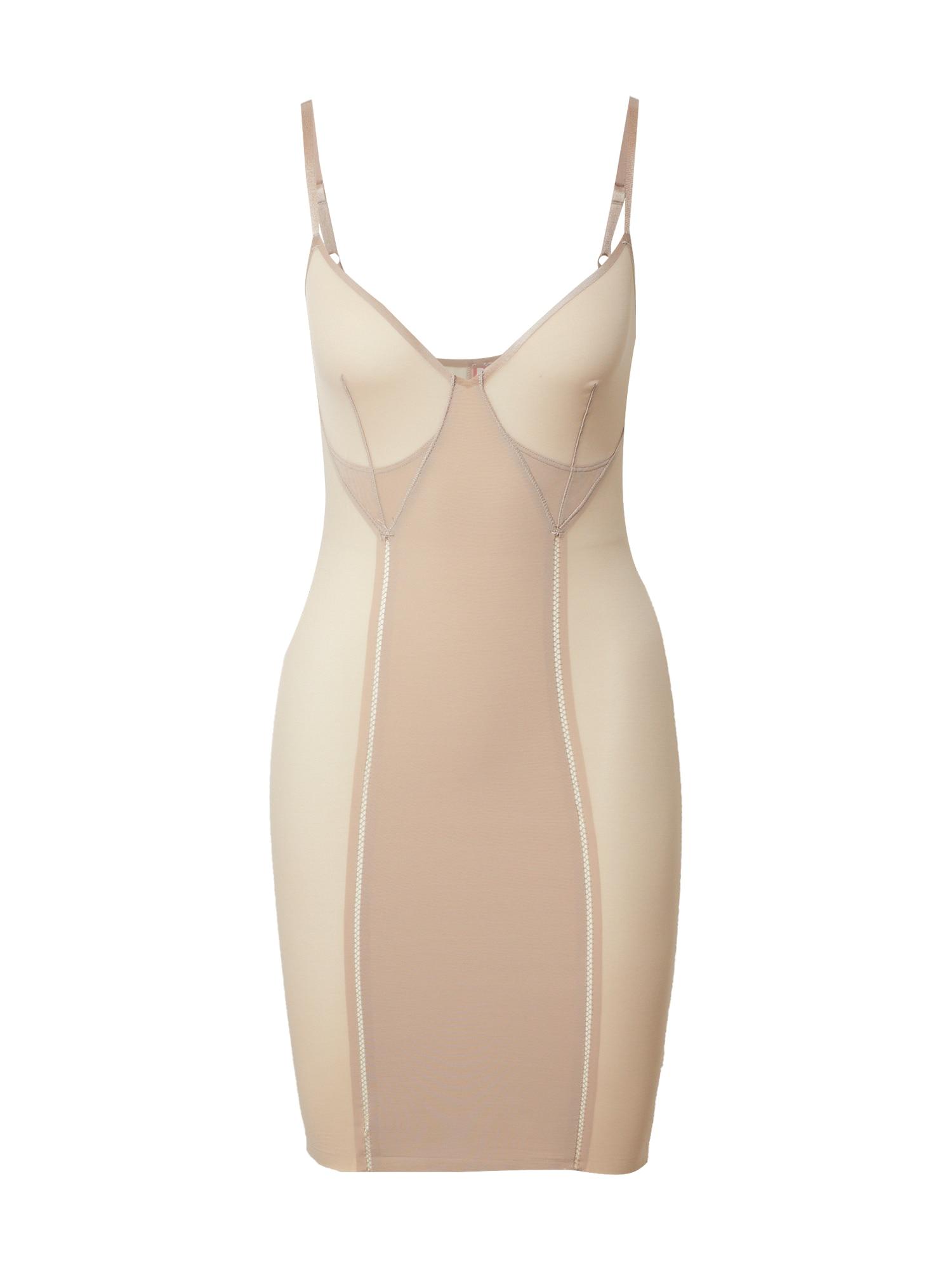 SPANX Korsetinė suknelė kūno spalva