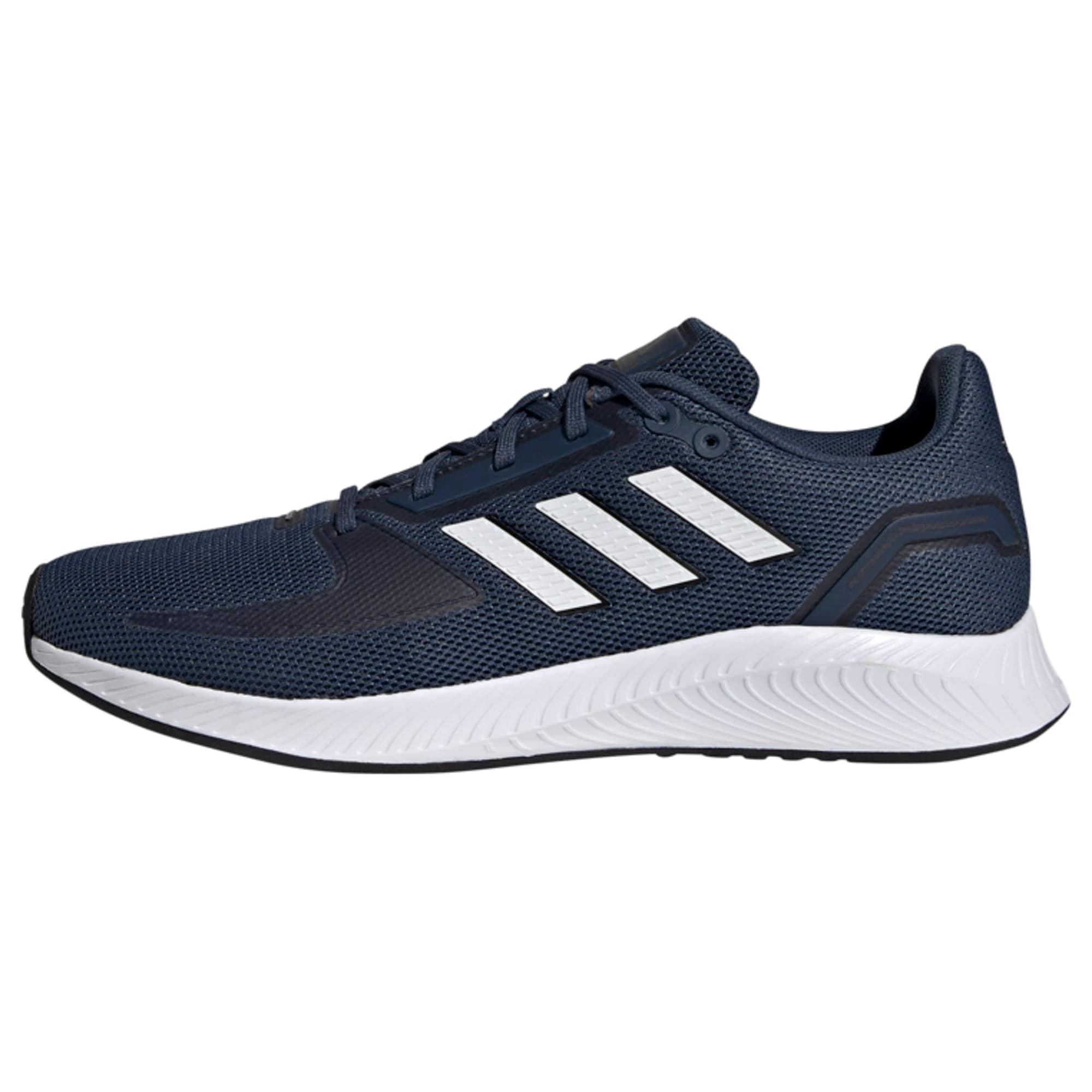 ADIDAS PERFORMANCE Bėgimo batai balta / tamsiai mėlyna