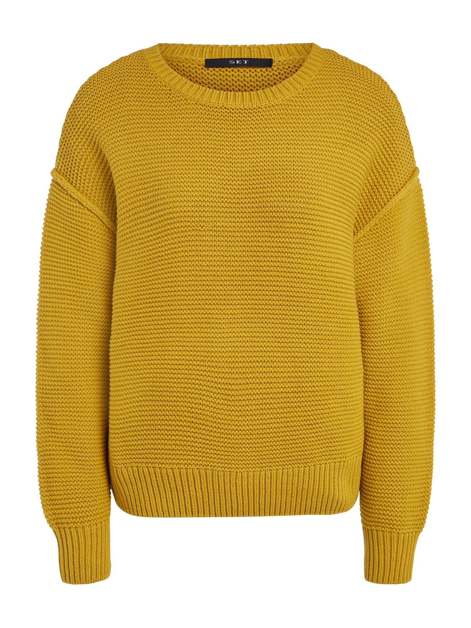 SET Megztinis garstyčių spalva