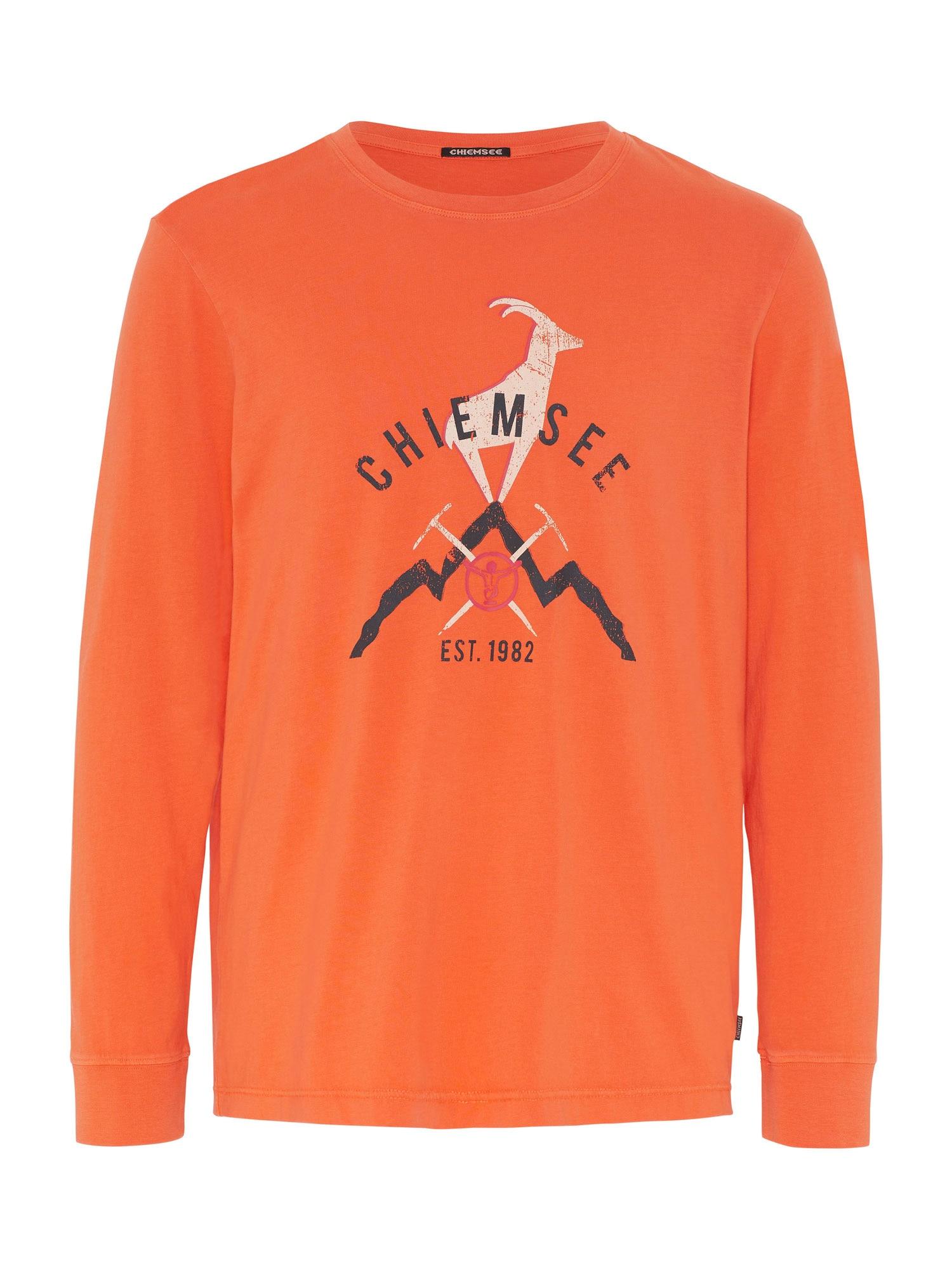 CHIEMSEE Funkční tričko 'BROAD PEAK'  oranžová / bílá / antracitová