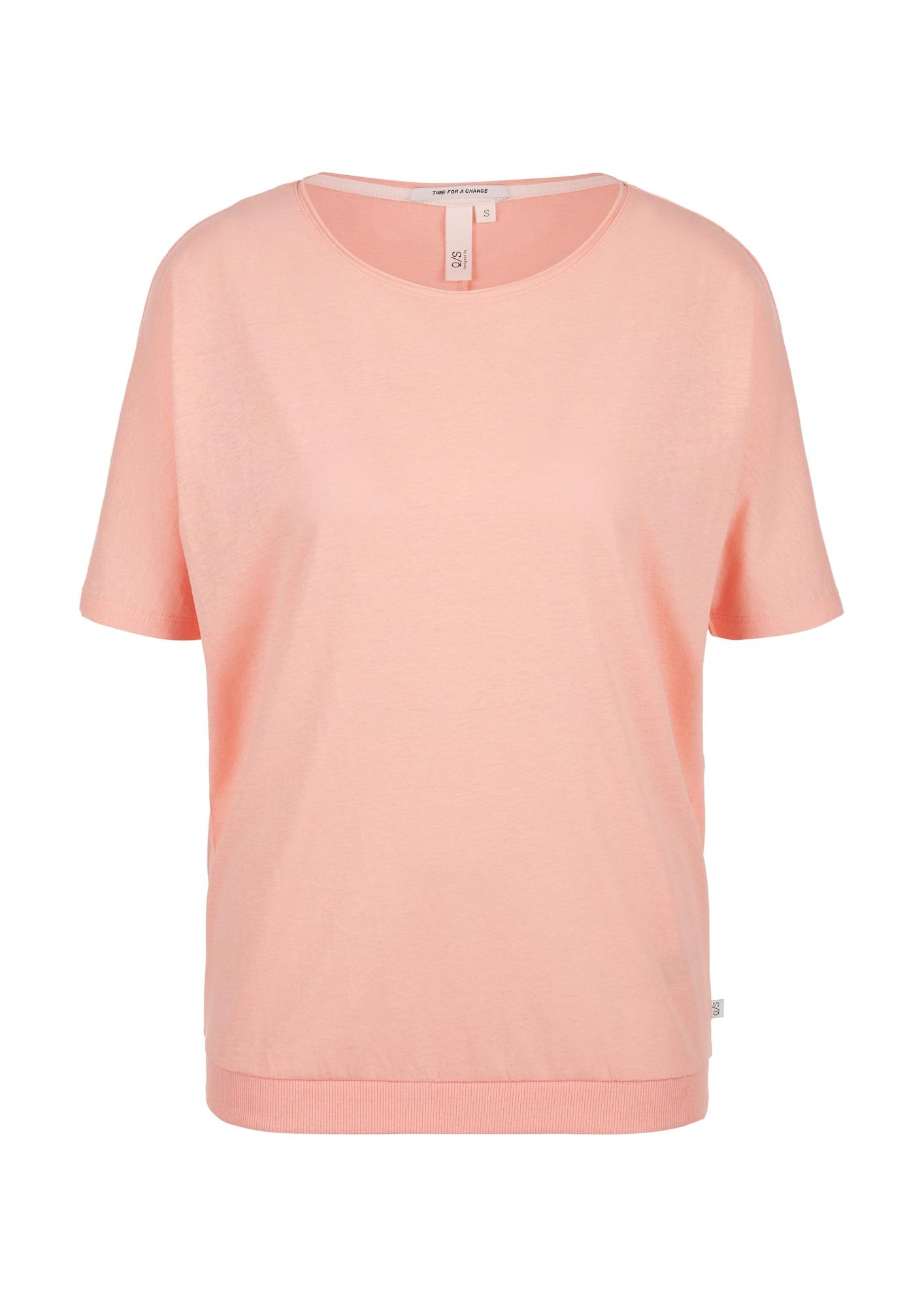Q/S designed by Marškinėliai abrikosų spalva
